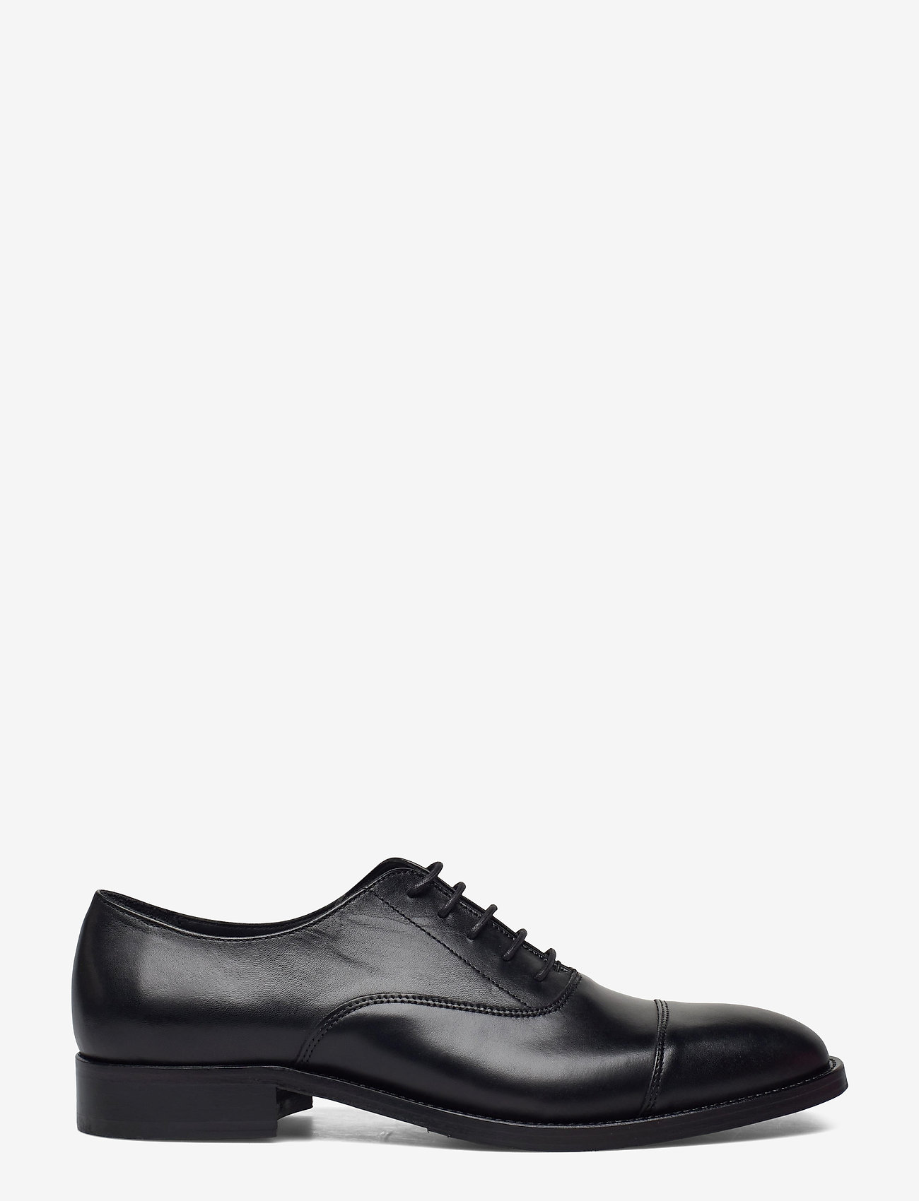 J. Lindeberg - Hopper Leather Oxford Shoe - schnürschuhe - black - 1
