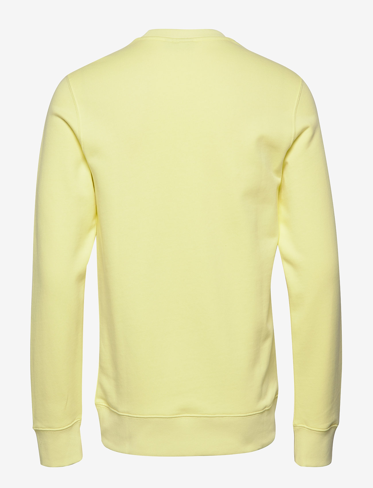 J. Lindeberg - Thrust C-Neck-Ring Loop Sweat - basic sweatshirts - still yellow - 1