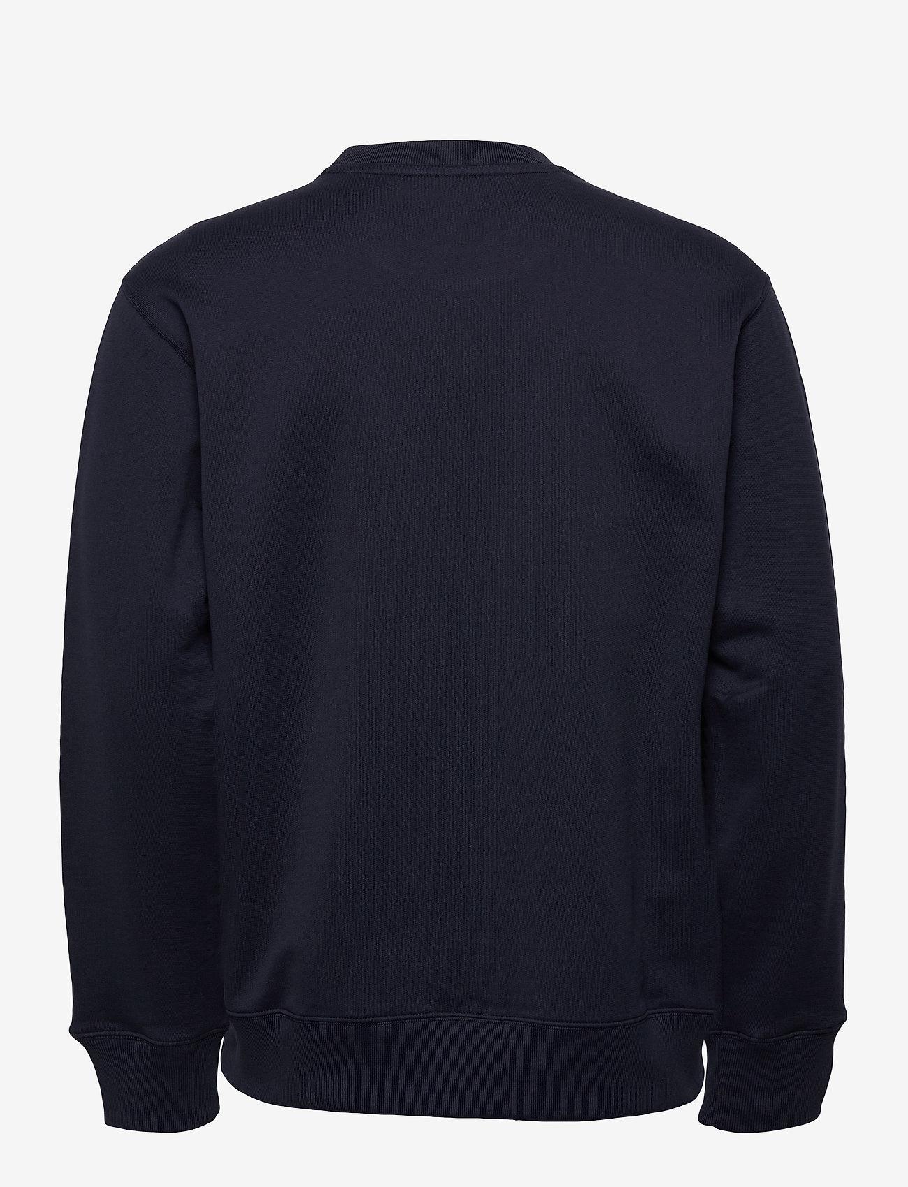 J. Lindeberg - Hurl Bridge-JLJL Sweat - basic sweatshirts - jl navy - 1