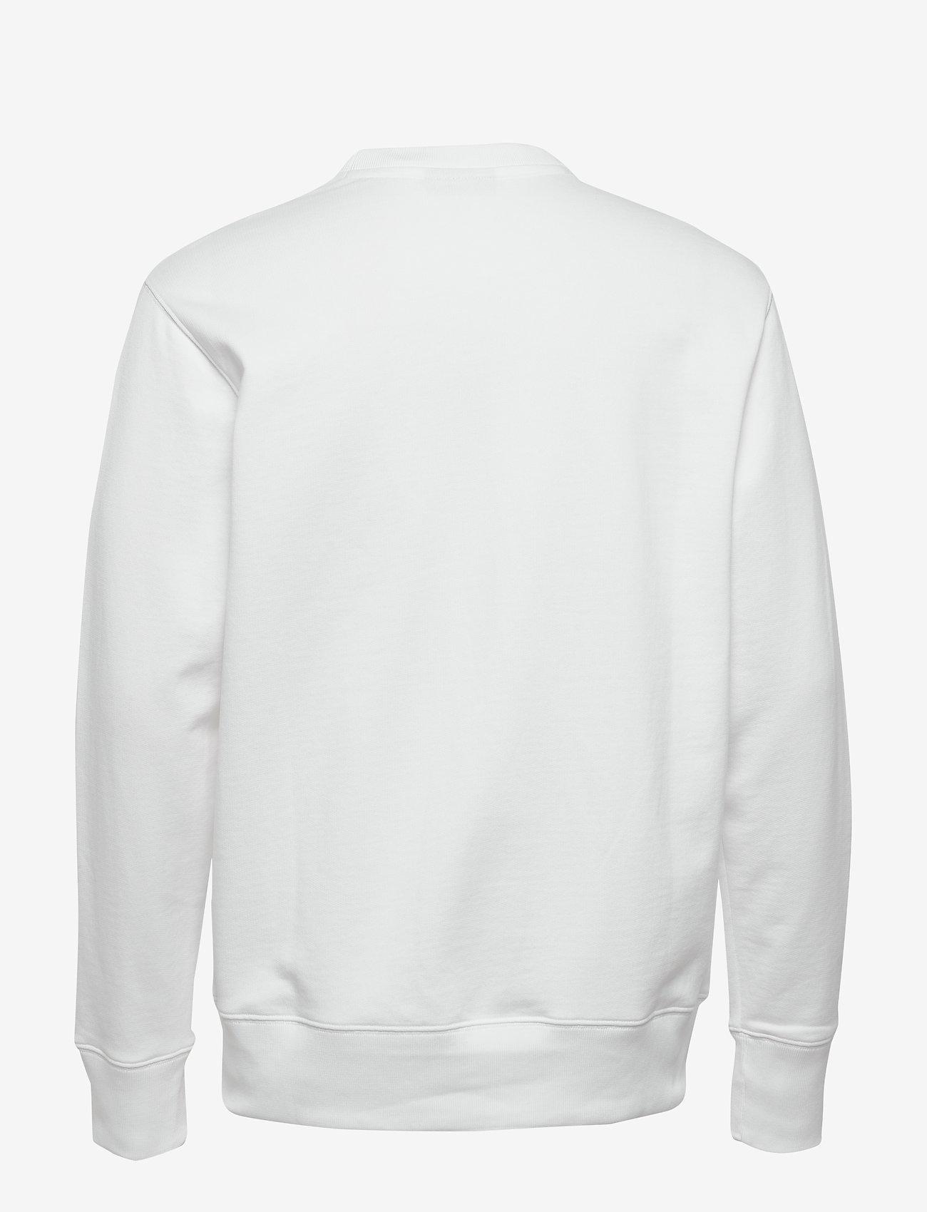 J. Lindeberg - Hurl Bridge-JLJL Sweat - basic sweatshirts - white - 1
