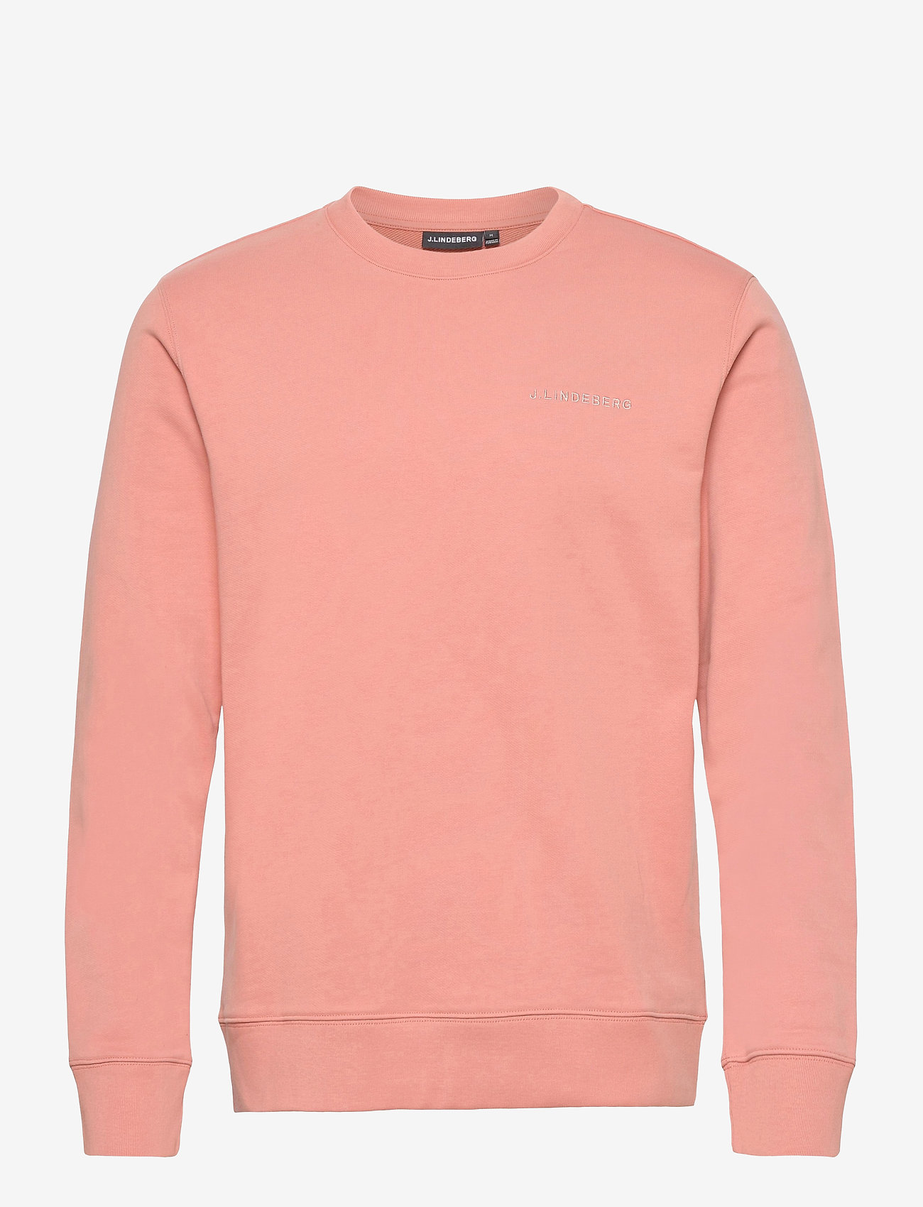 J. Lindeberg - Throw C-neck Sweatshirt - basic-sweatshirts - rose coppar - 1