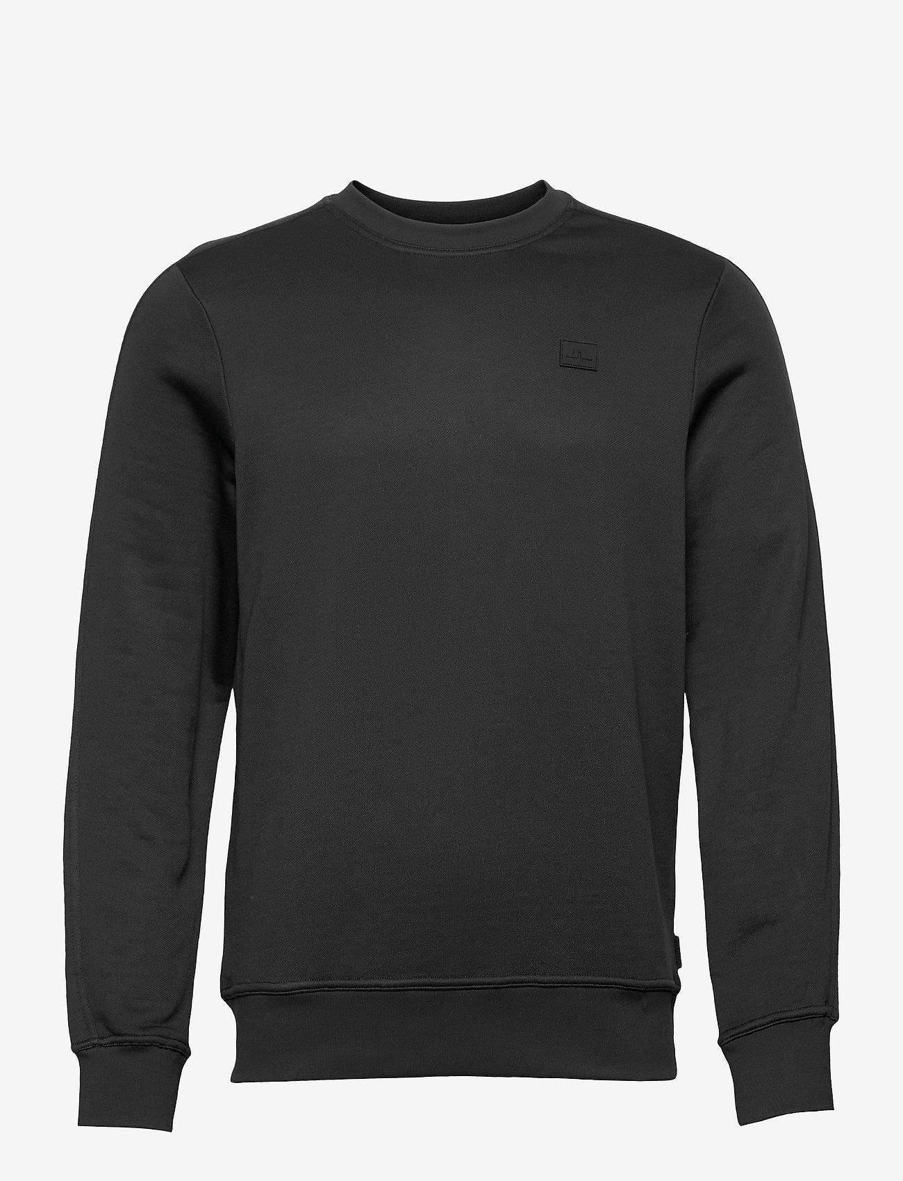 J. Lindeberg - Verge Logo Sweatshirt - basic-sweatshirts - black - 1