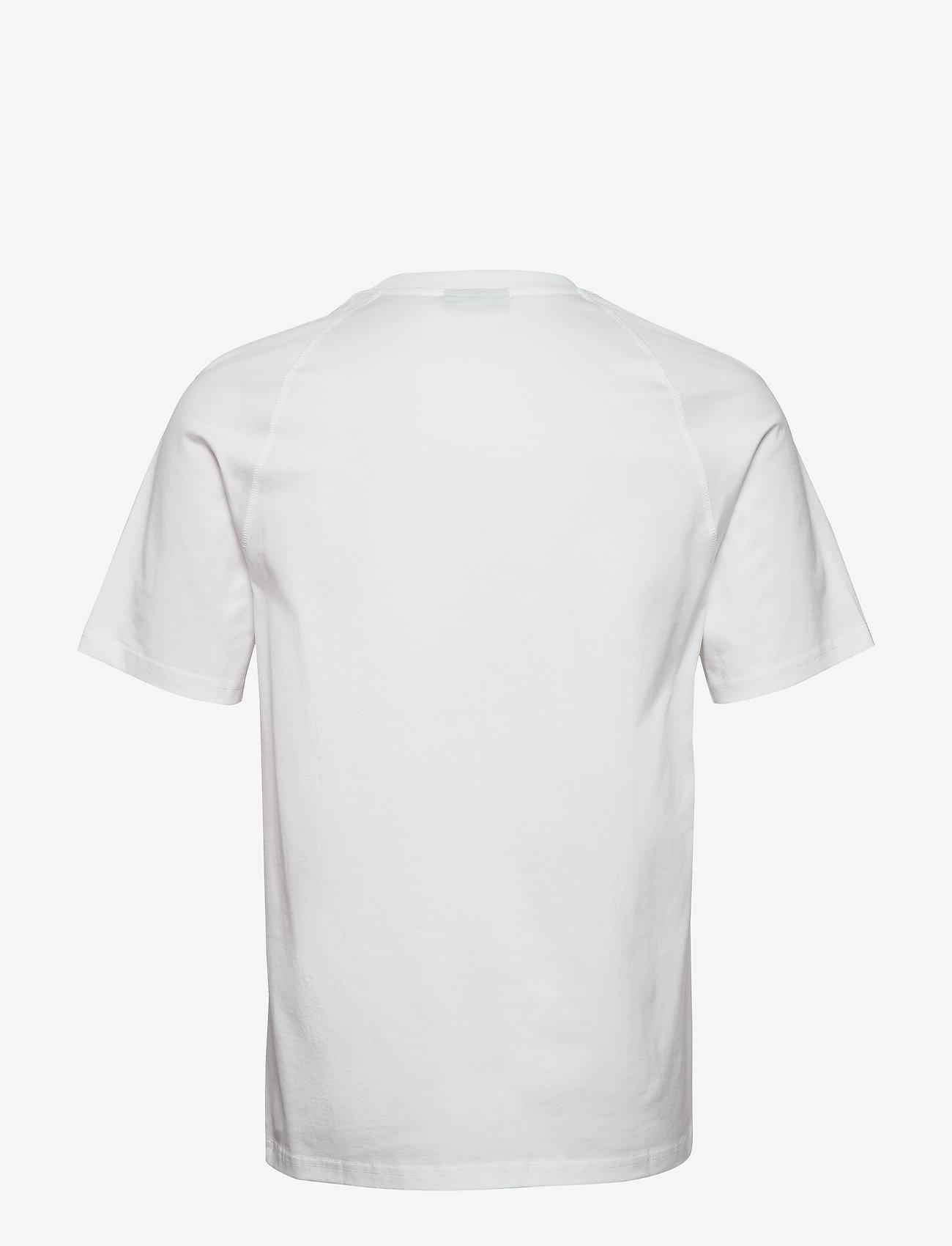 J. Lindeberg - Jordan Bridge t-shirt cotton - basic t-shirts - white - 1
