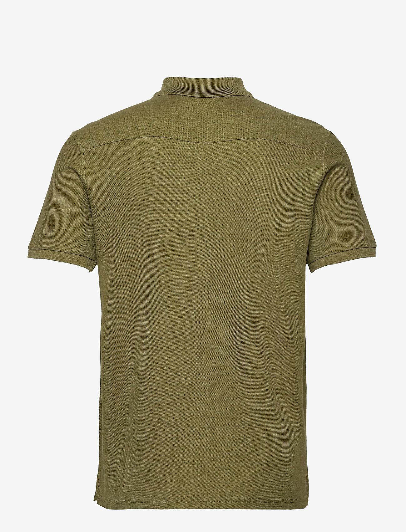 J. Lindeberg Troy Polo Shirt  Clean Pique - Poloskjorter MOSS GREEN - Menn Klær