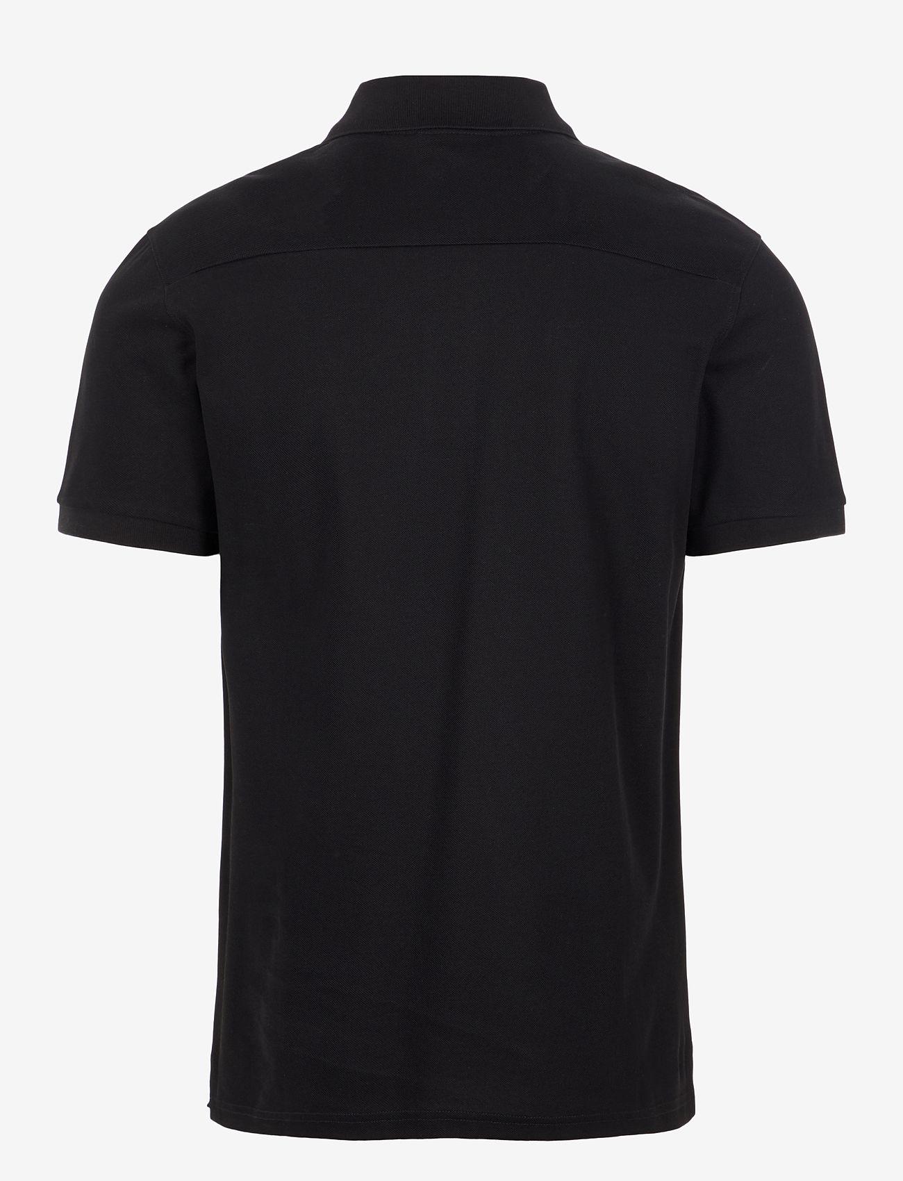 J. Lindeberg - Troy ST Pique Polo Shirt - kurzärmelig - black - 1