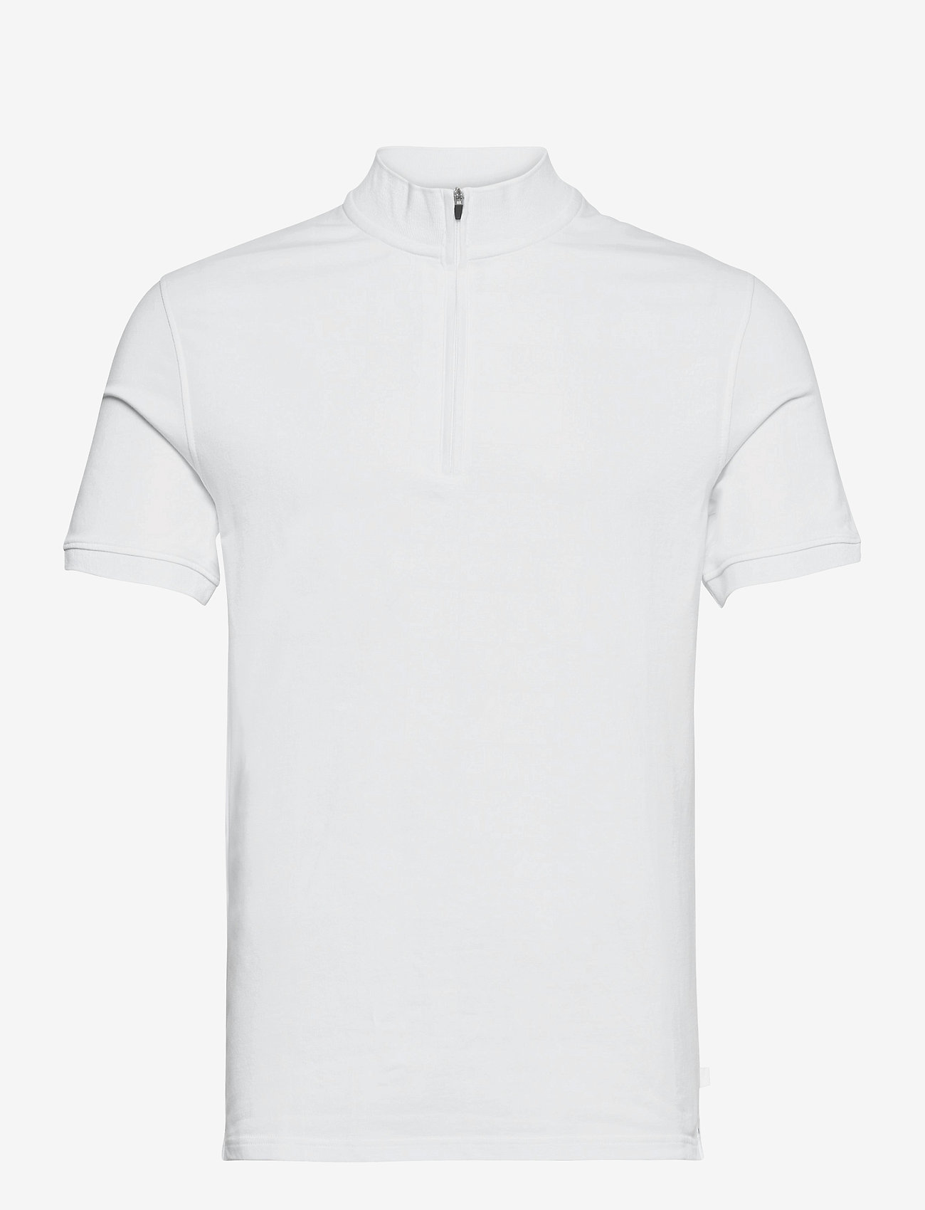 J. Lindeberg - Steel Half Zip Polo Shirt - kurzärmelig - white - 0