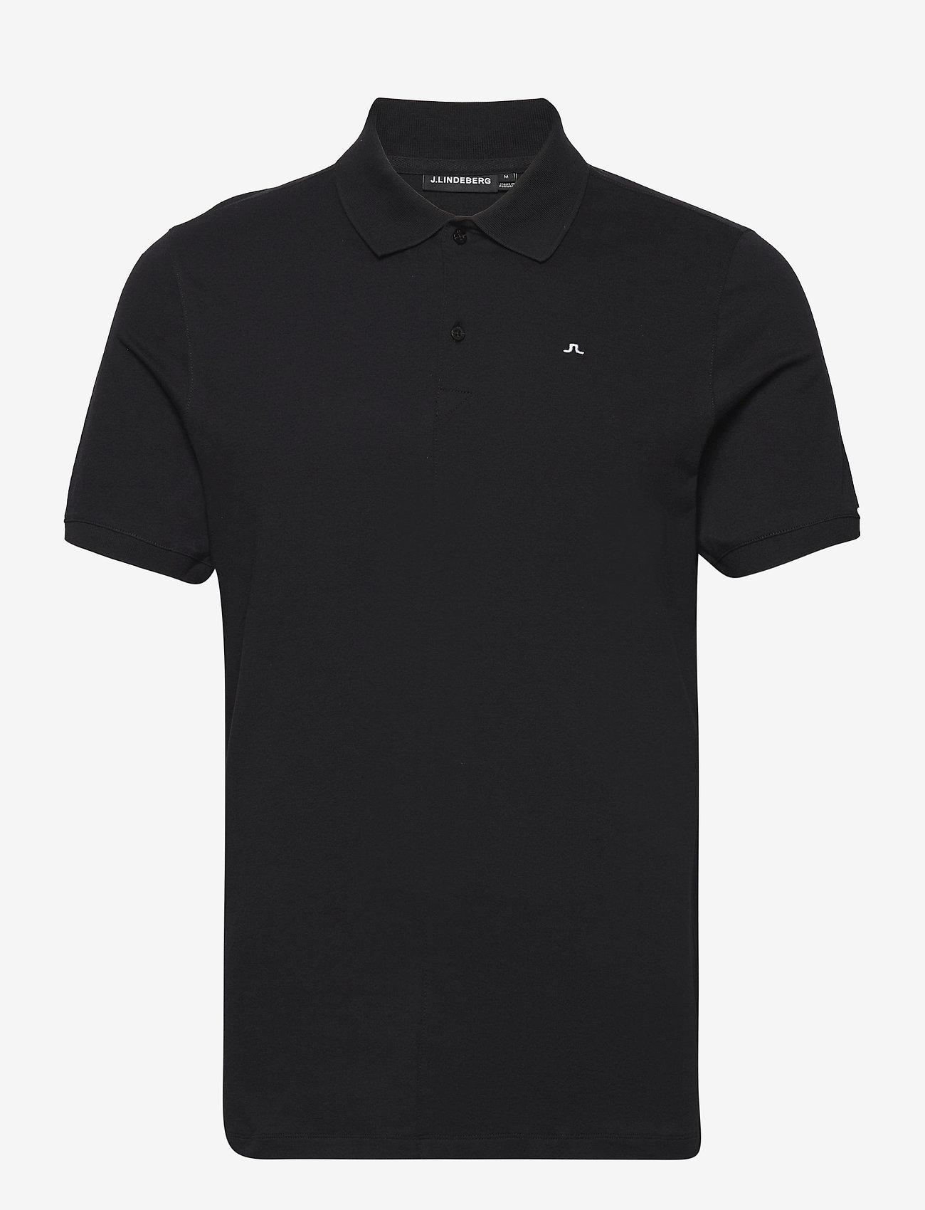 J. Lindeberg - Rubi Slim Polo Shirt - kurzärmelig - black - 1
