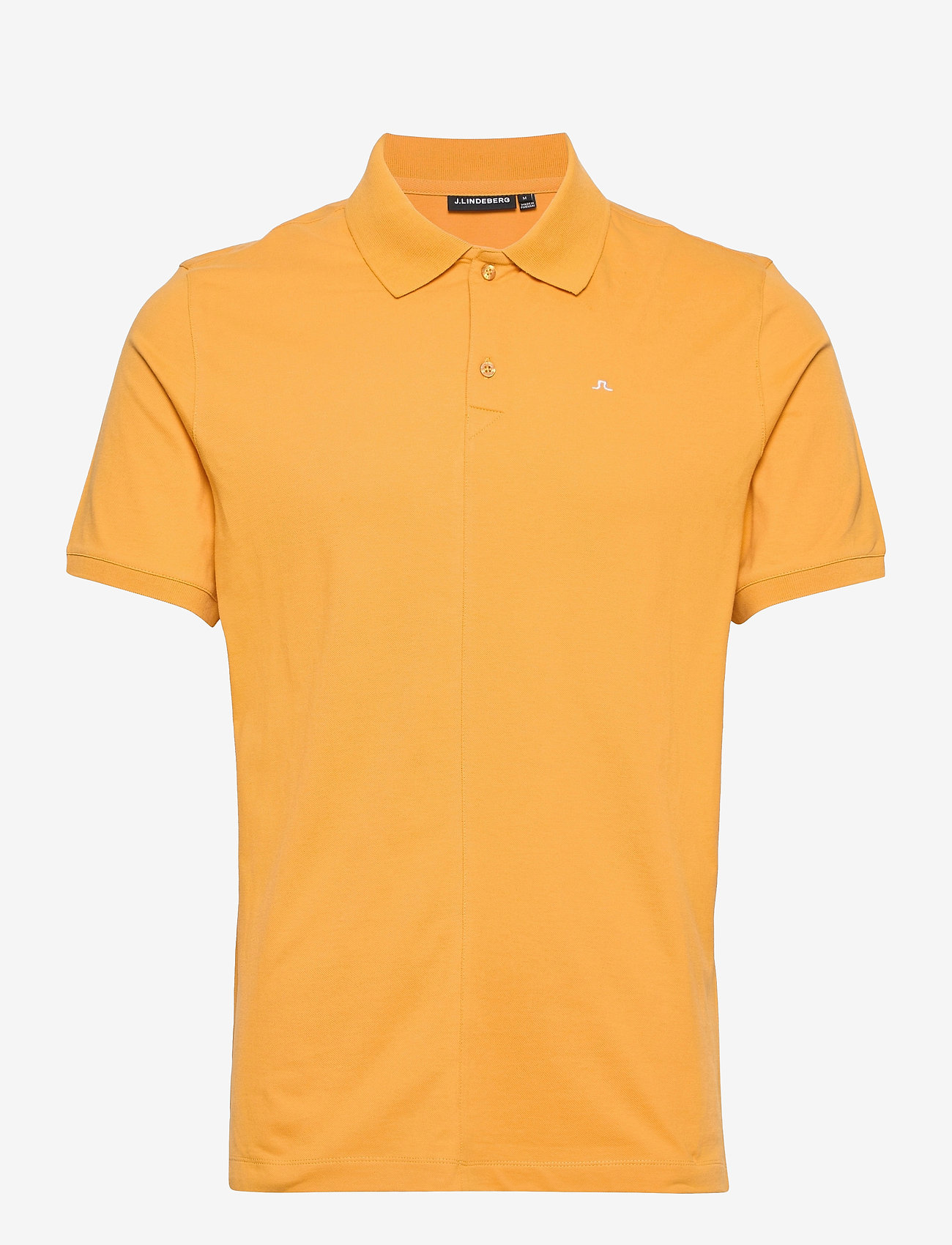J. Lindeberg - Rubi Slim Polo Shirt - kurzärmelig - golden orange - 1