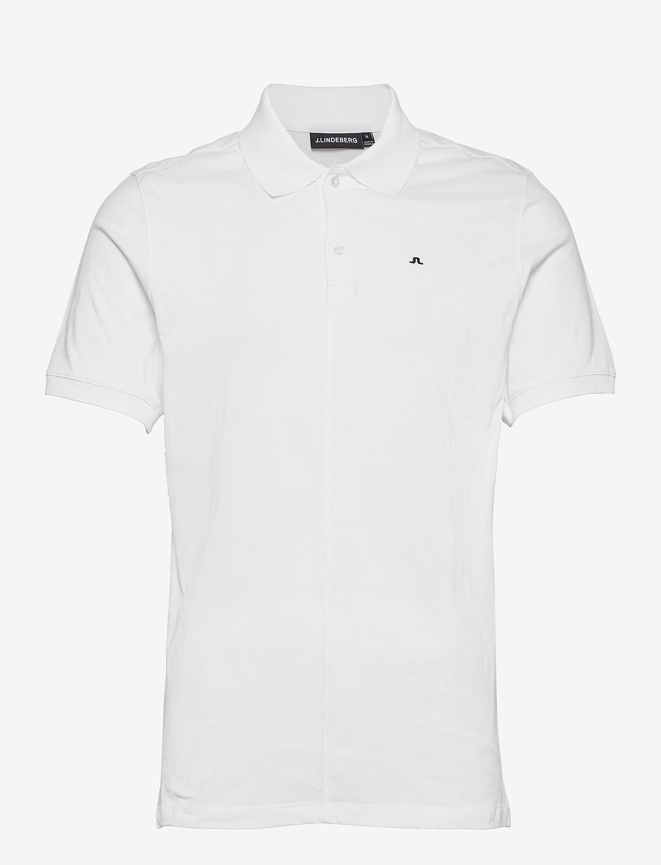 J. Lindeberg - Rubi Slim Polo Shirt - kurzärmelig - white - 1