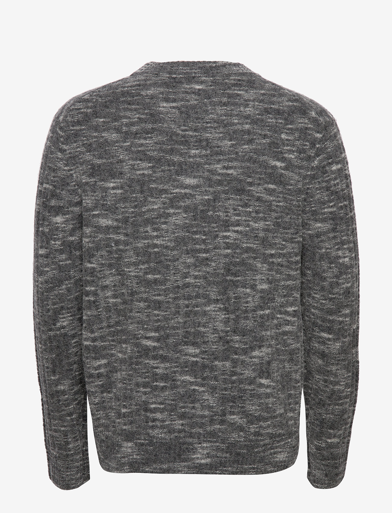 J. Lindeberg - Ibbe-Fuzzy alpaca - basic strik - dark grey - 1