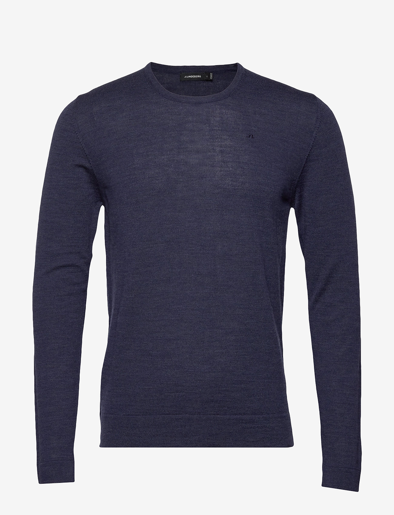 J. Lindeberg - Newman-Perfect Merino - basic strik - jl navy - 0