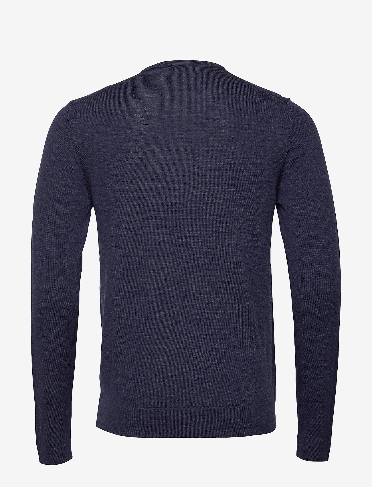 J. Lindeberg - Newman-Perfect Merino - basic strik - jl navy - 1
