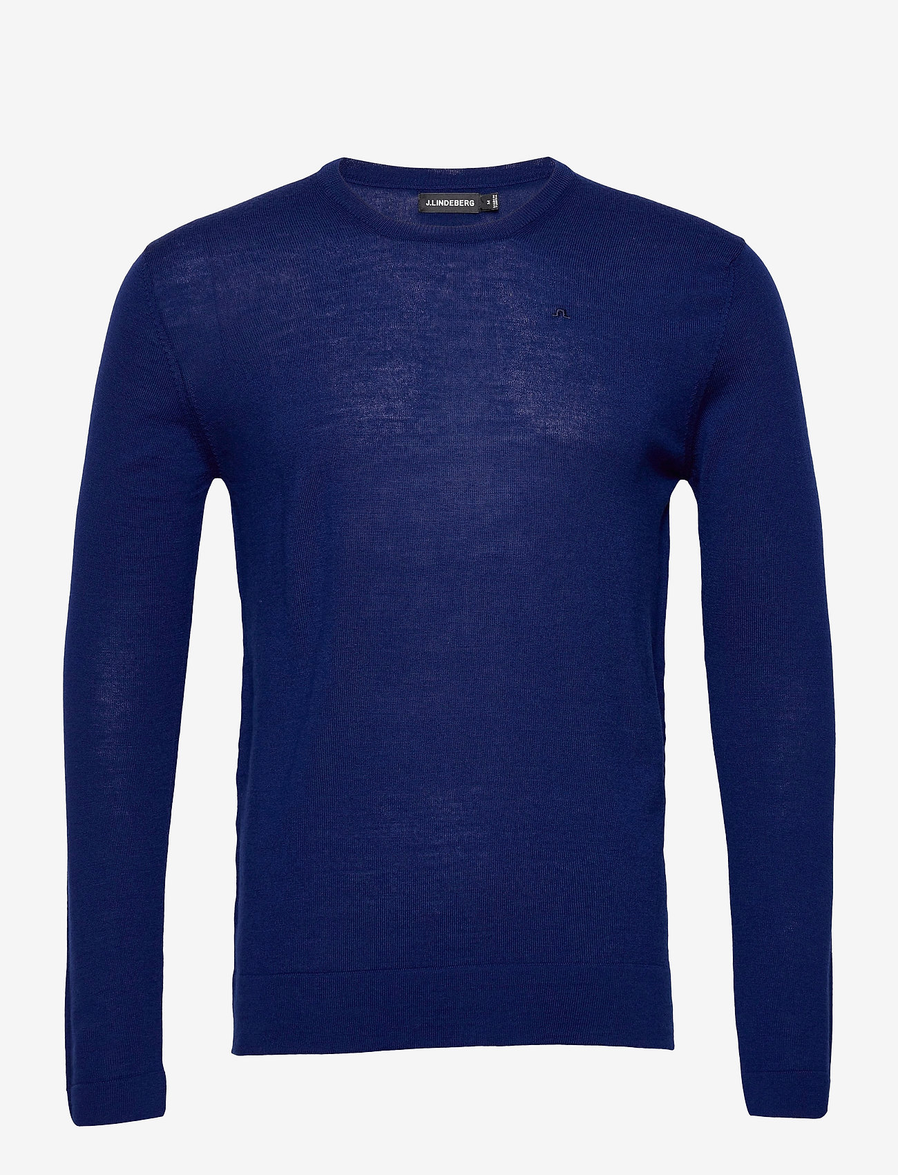 J. Lindeberg - Newman Merino Crew Neck - basic-strickmode - midnight blue - 1