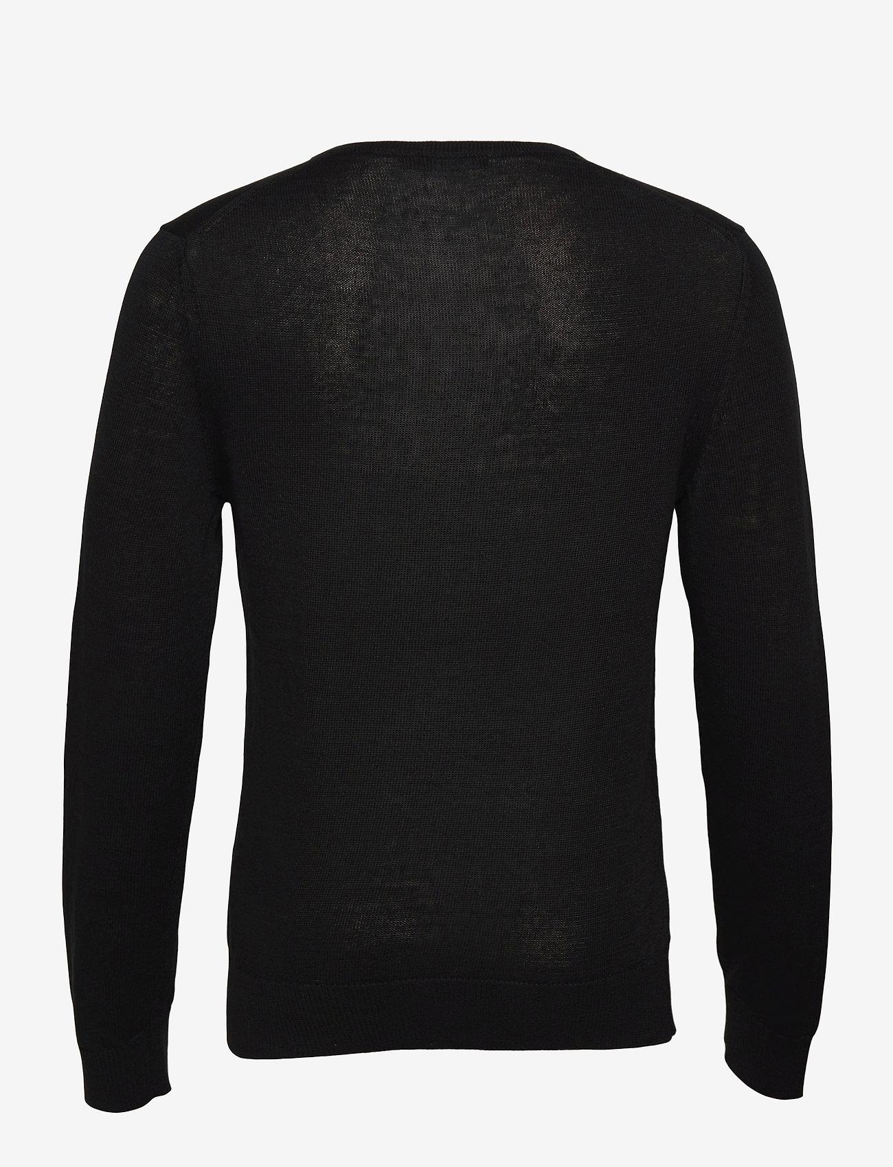 J. Lindeberg - Lyle Linen Sweater - basic-strickmode - black - 1