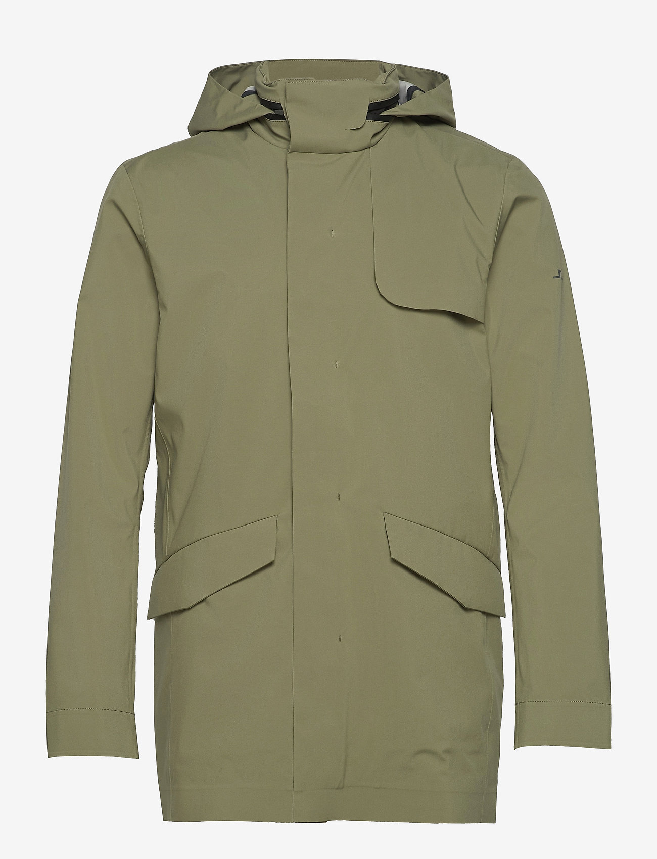 J. Lindeberg - Alph Mech Stretch jacket - leichte jacken - lake green - 1