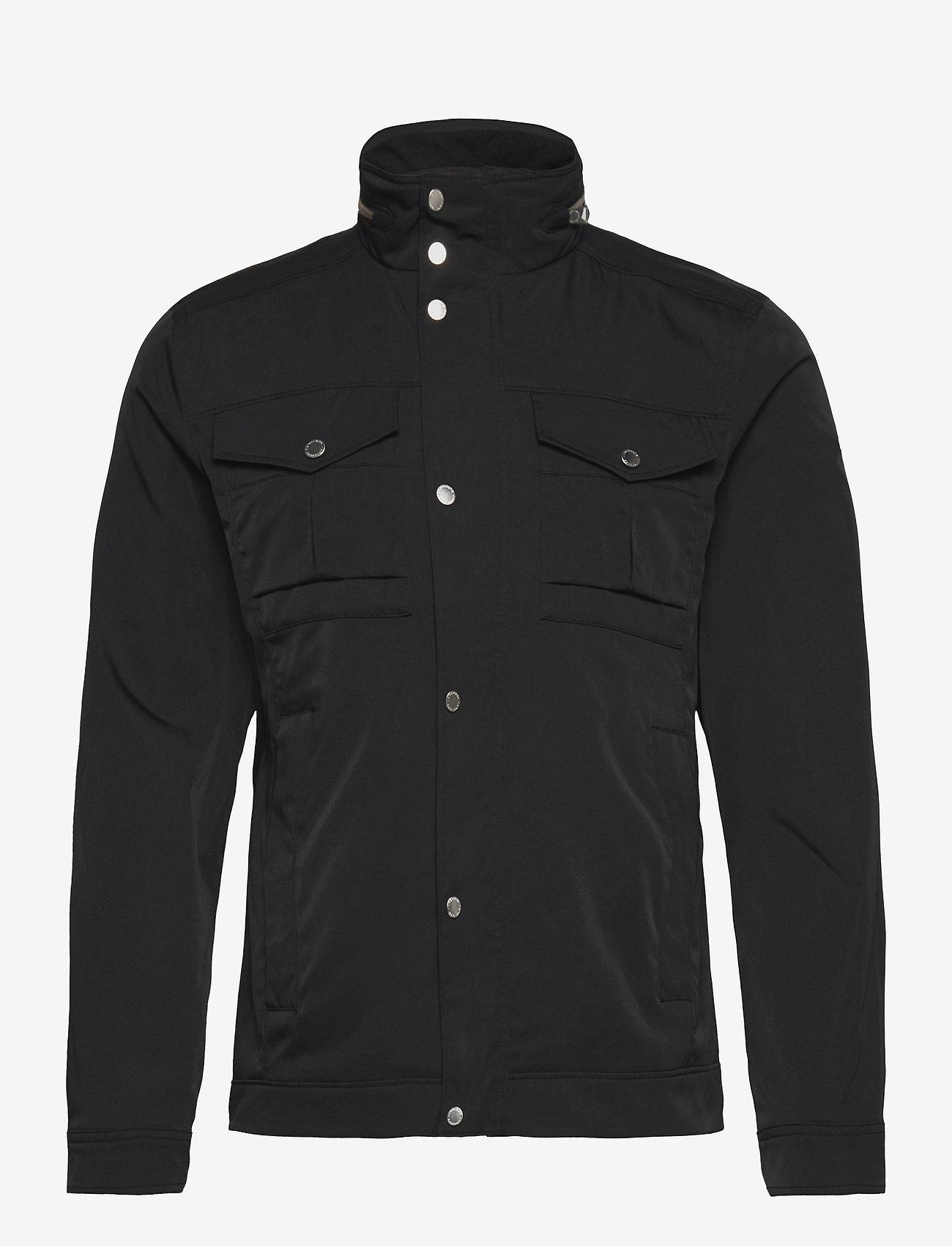 J. Lindeberg - Bailey Poly Stretch jacket - leichte jacken - black - 0