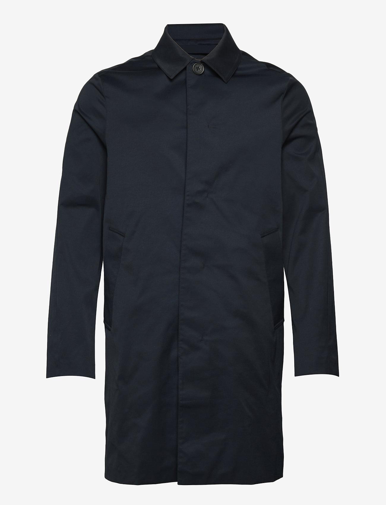 J. Lindeberg - Cane Micro Twill Coat - manteaux legères - jl navy - 1