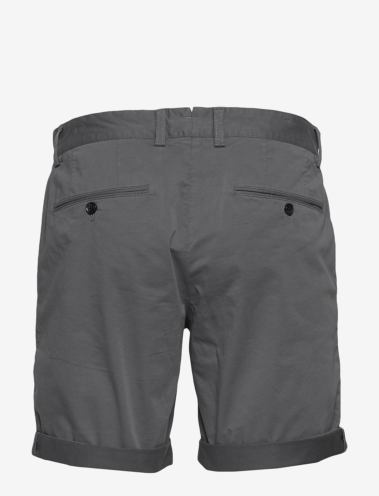 J. Lindeberg - Nathan-Super Satin - tailored shorts - dark grey - 1