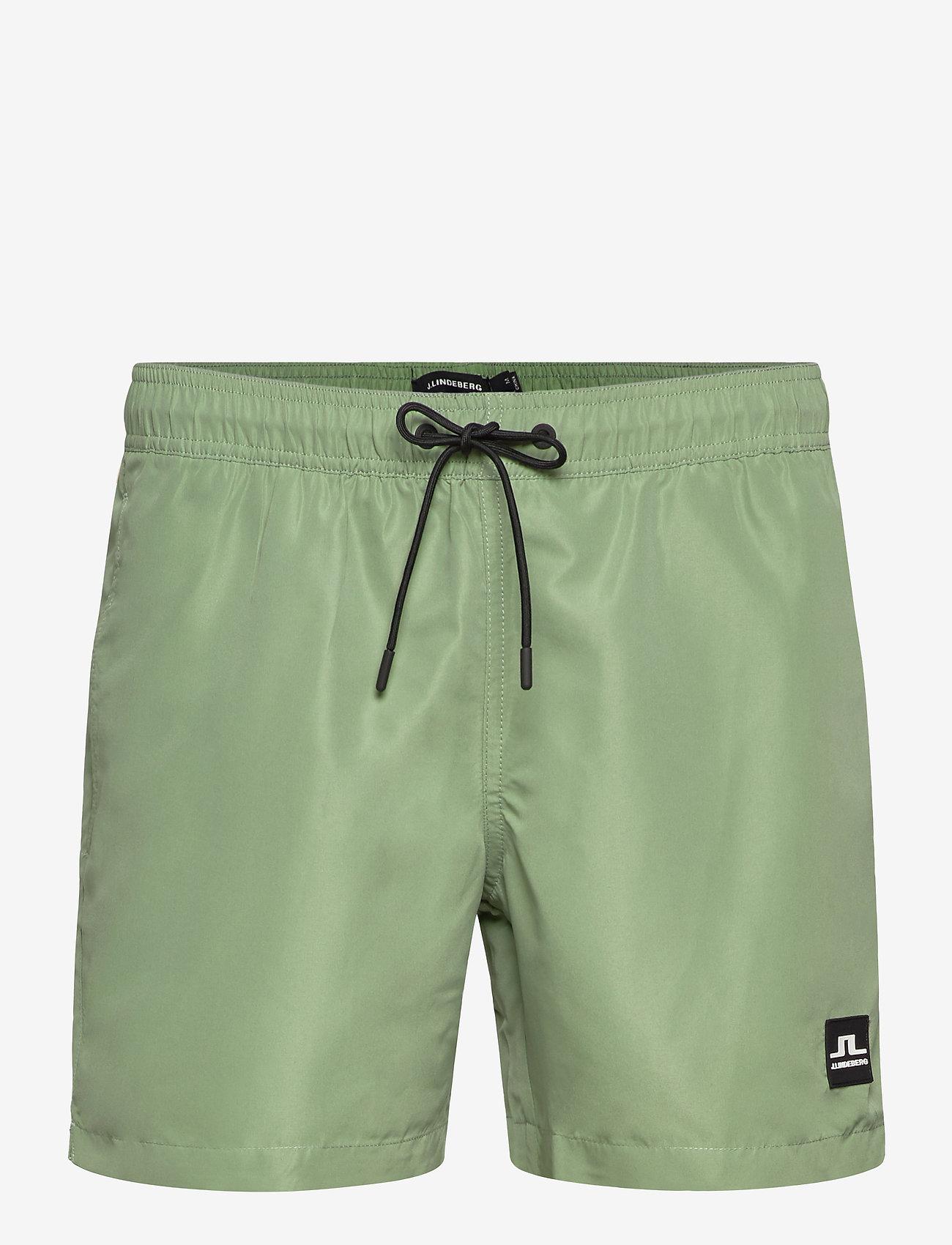 J. Lindeberg - Banks-Solid Swim - badehosen - sage green - 0