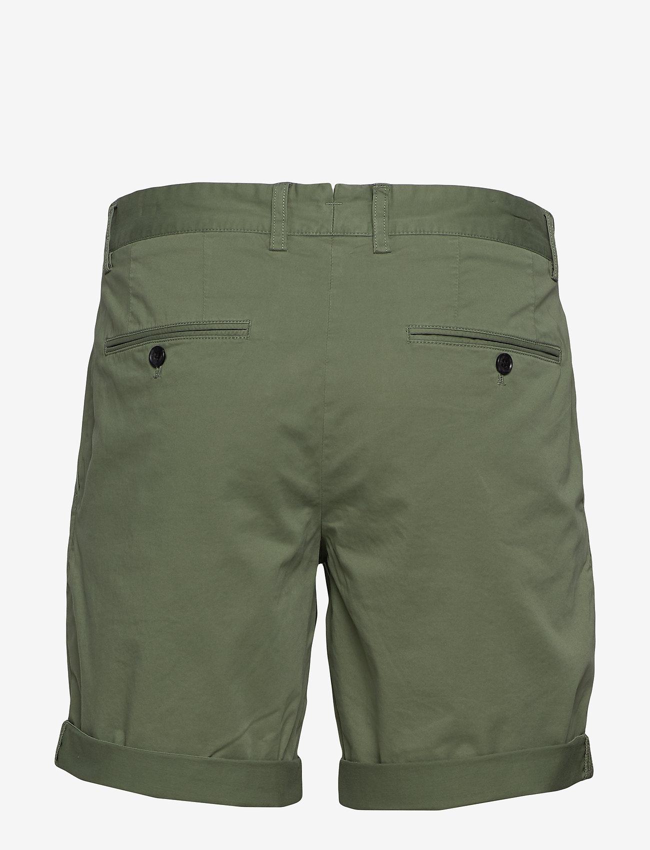 J. Lindeberg - Nathan-Super Satin - chinos shorts - sage green - 1
