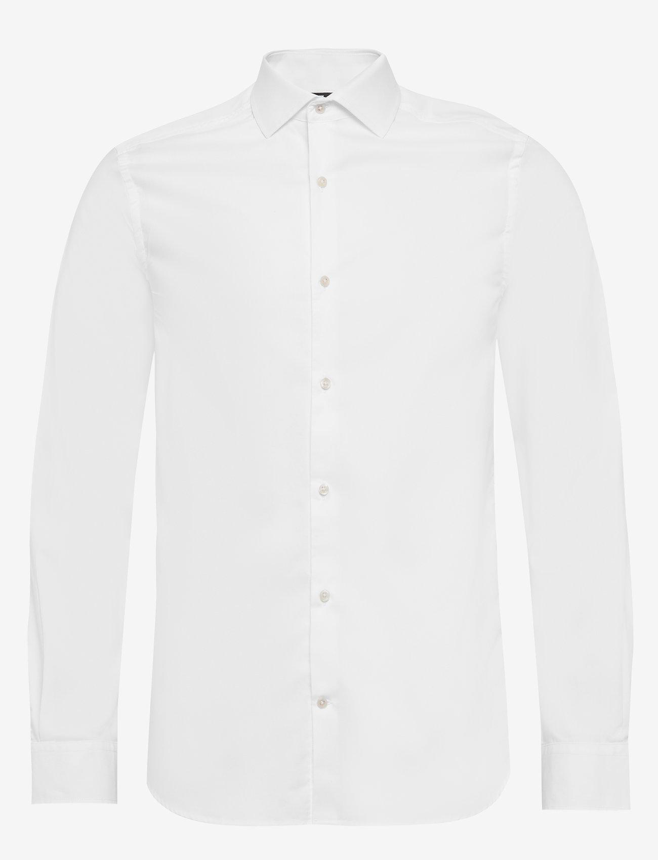 J. Lindeberg - Dan CA-Non-iron Twill - chemises basiques - white - 0