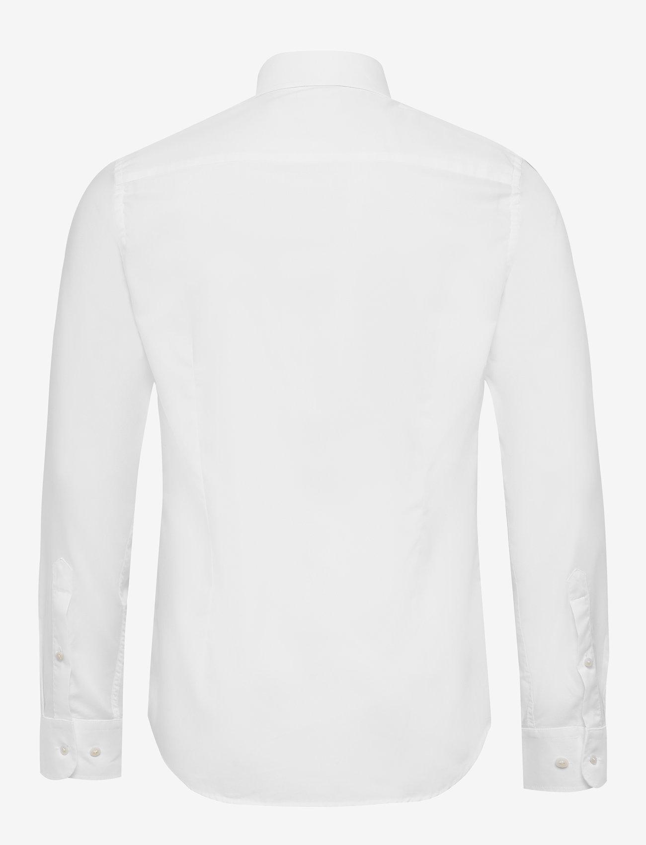 J. Lindeberg - Dan CA-Non-iron Twill - chemises basiques - white - 1