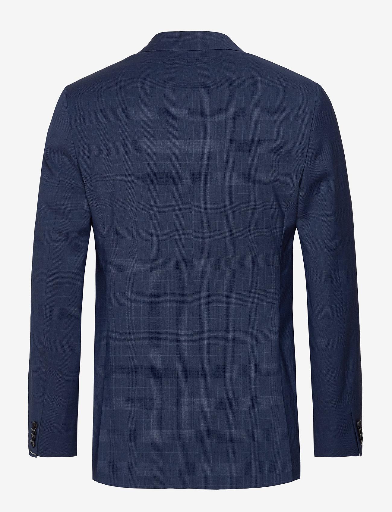 J. Lindeberg - Ben Soft-Voyager Wool - single breasted blazers - mid blue - 1
