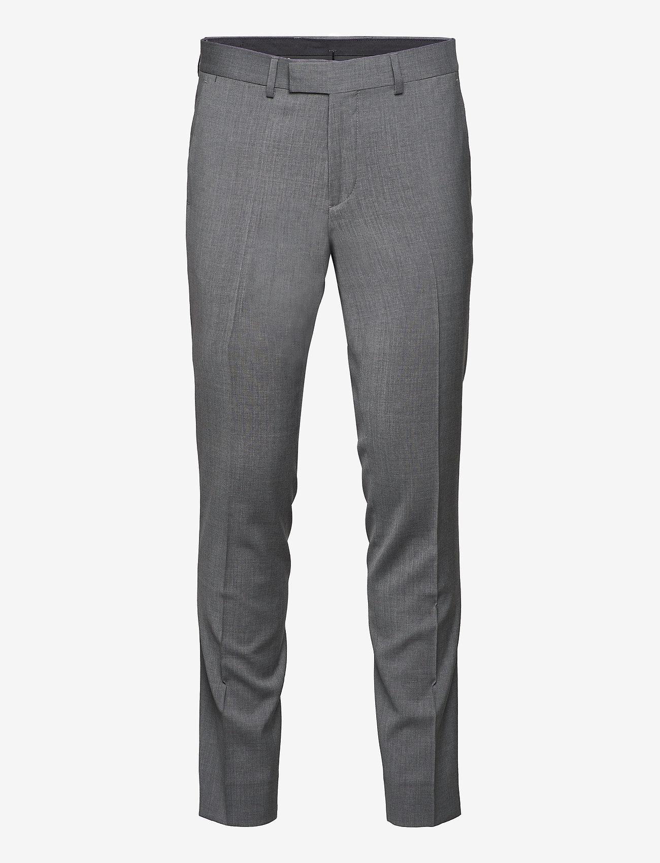 J. Lindeberg - Grant Comfort Wool Pants - anzugshosen - stone grey - 1
