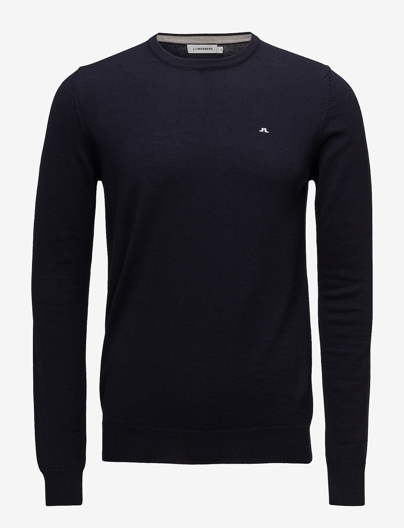 J. Lindeberg - Lyle True Merino - basic-strickmode - navy - 0