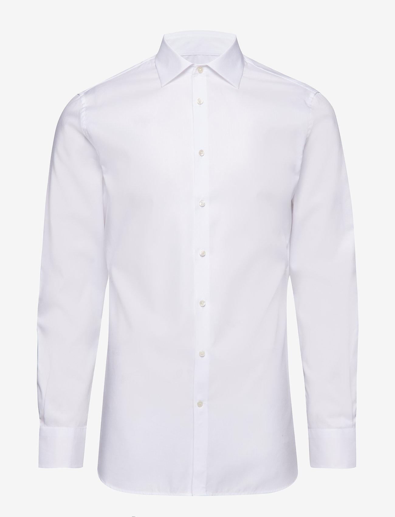 J. Lindeberg - Daniel CA TL Non-iron Twill - chemises basiques - white - 0