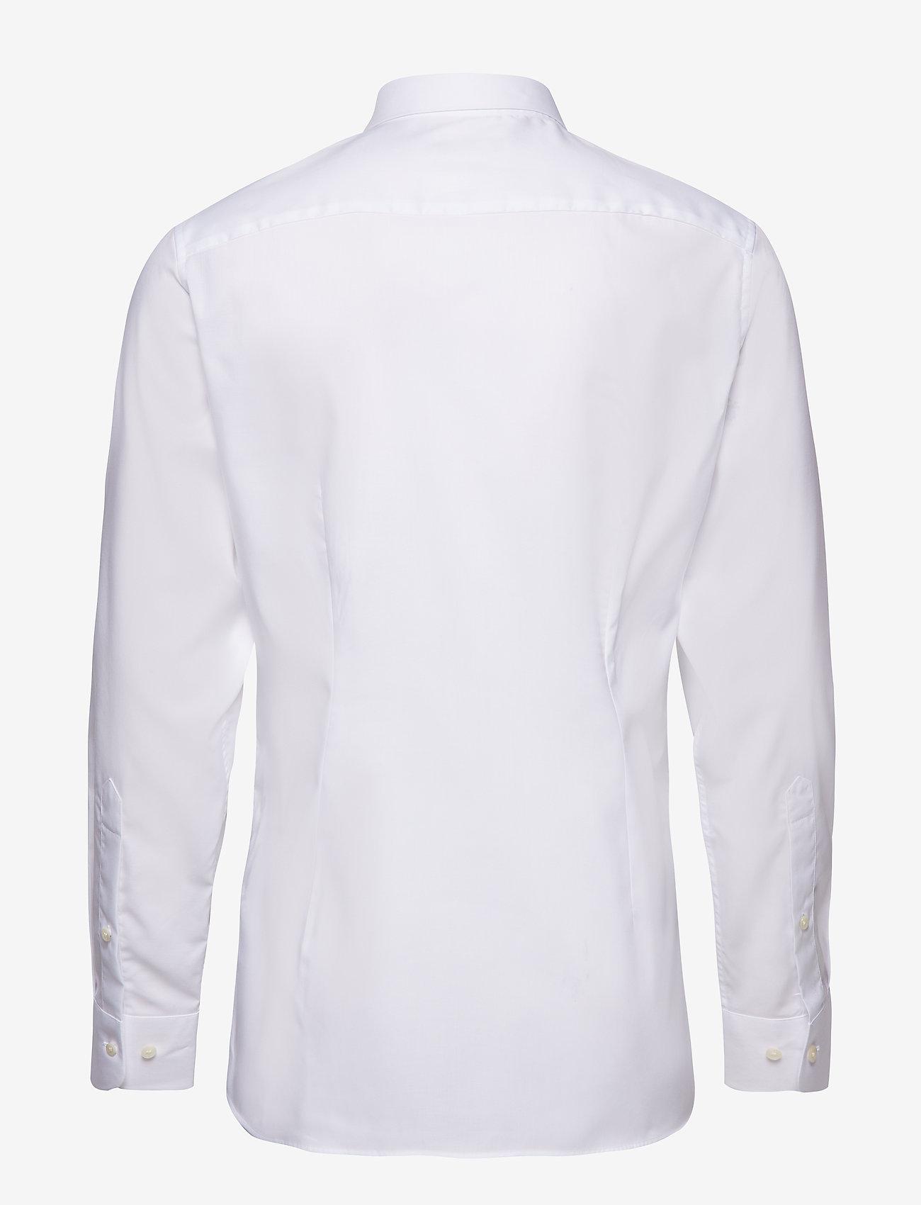 J. Lindeberg Daniel CA TL Non-iron Twill - Skjorter WHITE - Menn Klær