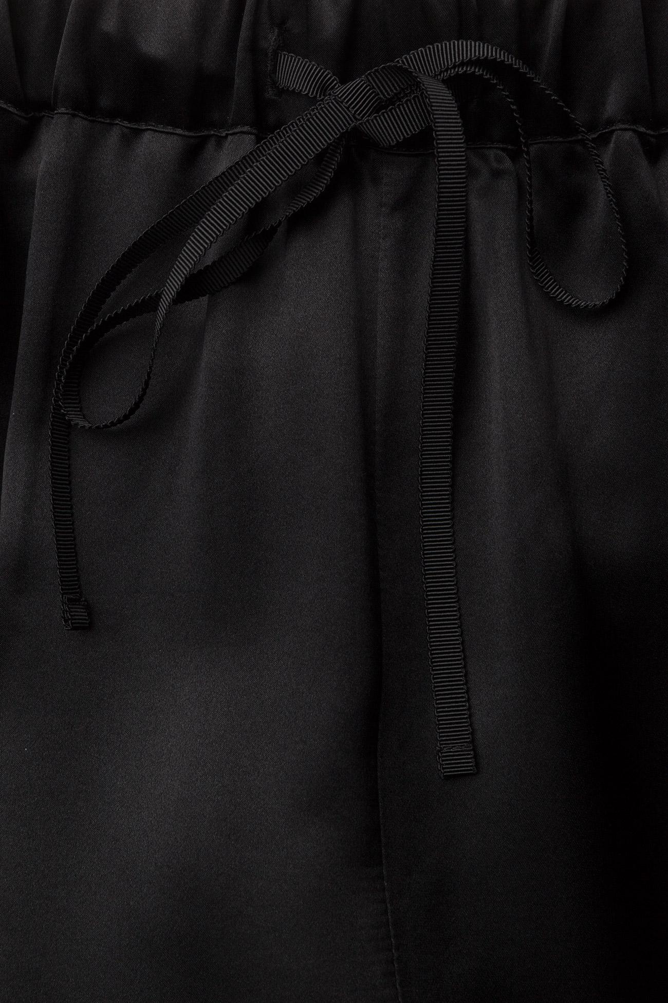 J. Lindeberg Spring Viscose Silk - Trousers BLACK