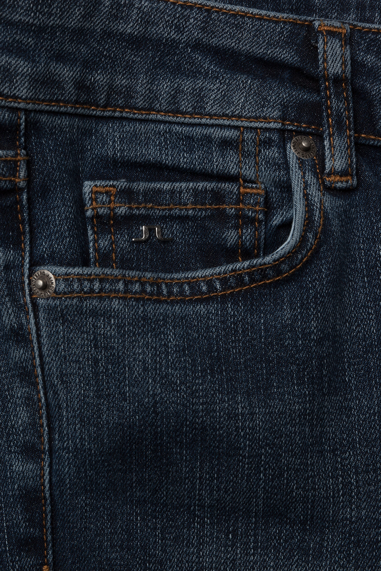 J. Lindeberg Lowe Bowl - Jeans MID BLUE
