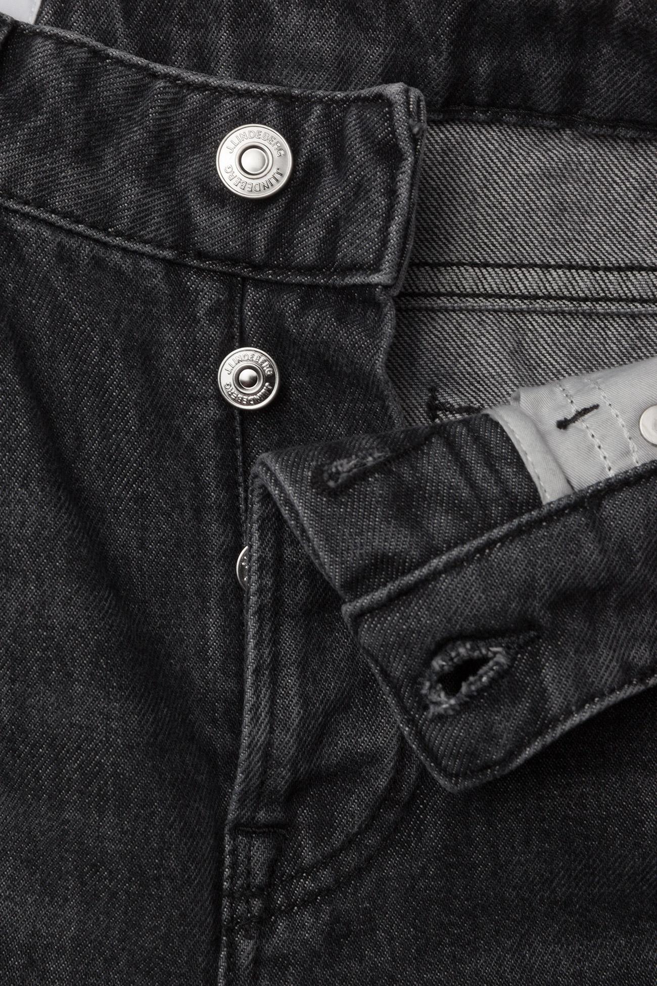 J. Lindeberg Study Black Stone - Jeans DK GREY