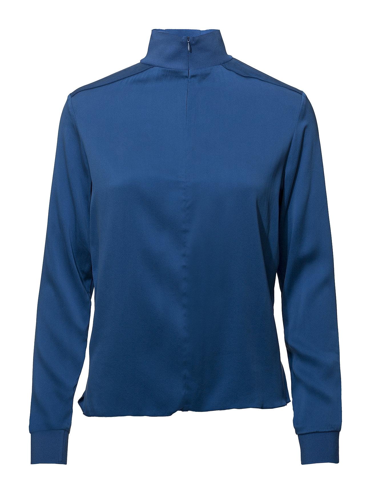 J. Lindeberg Heidi Washed Silk - WONDER BLUE