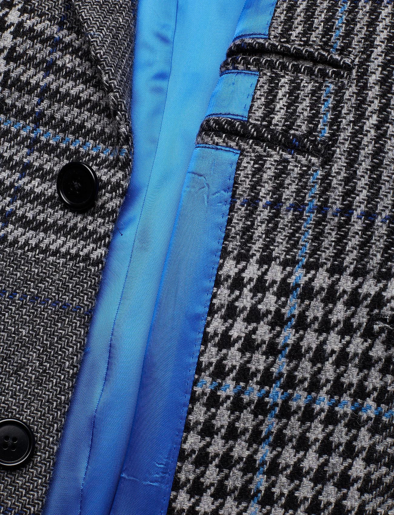 J. Lindeberg James Wool Plaid - Jackor & Rockar Wonder Blue