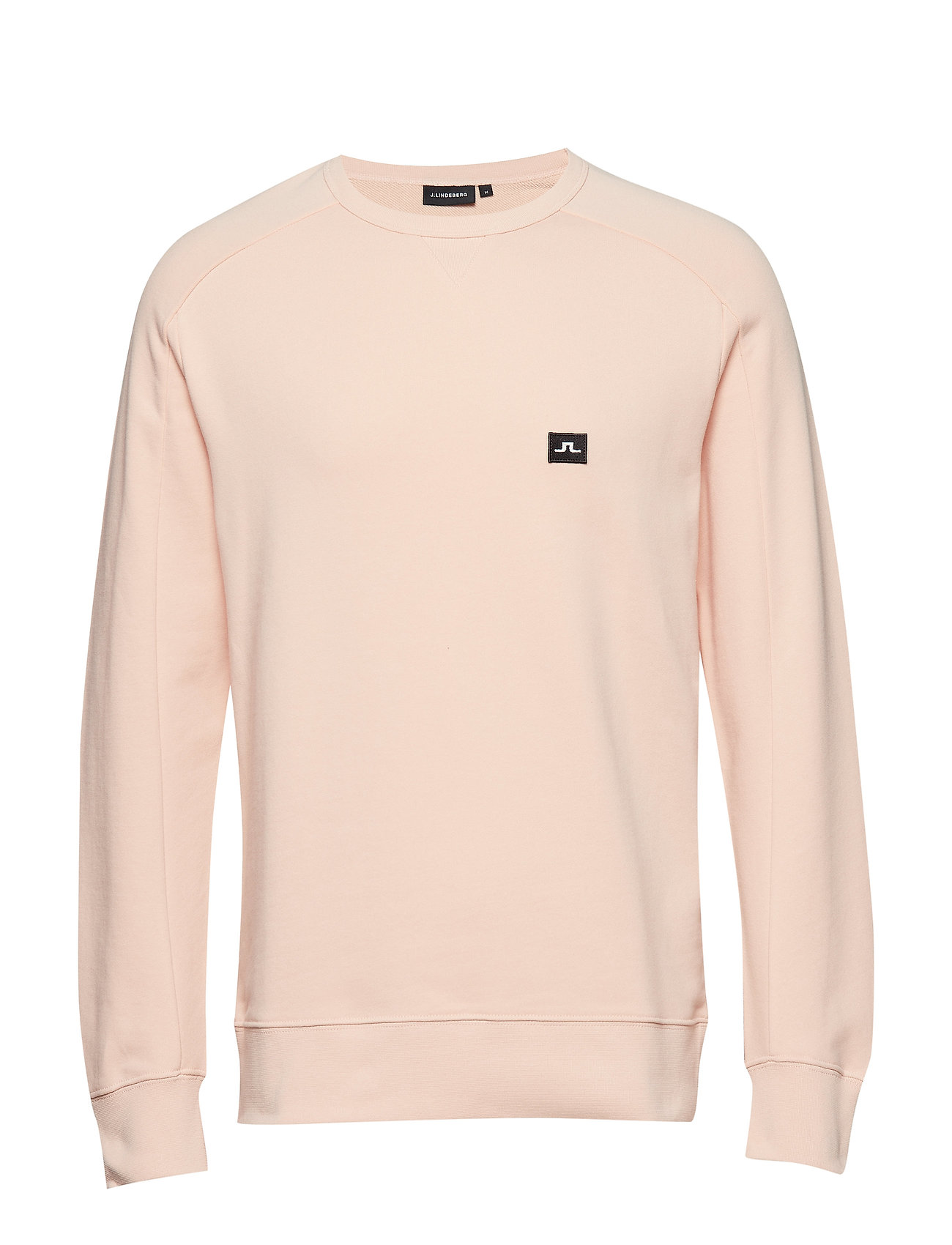 J. Lindeberg Throw C-Neck Ring loop sweat - SUMMER BEIGE