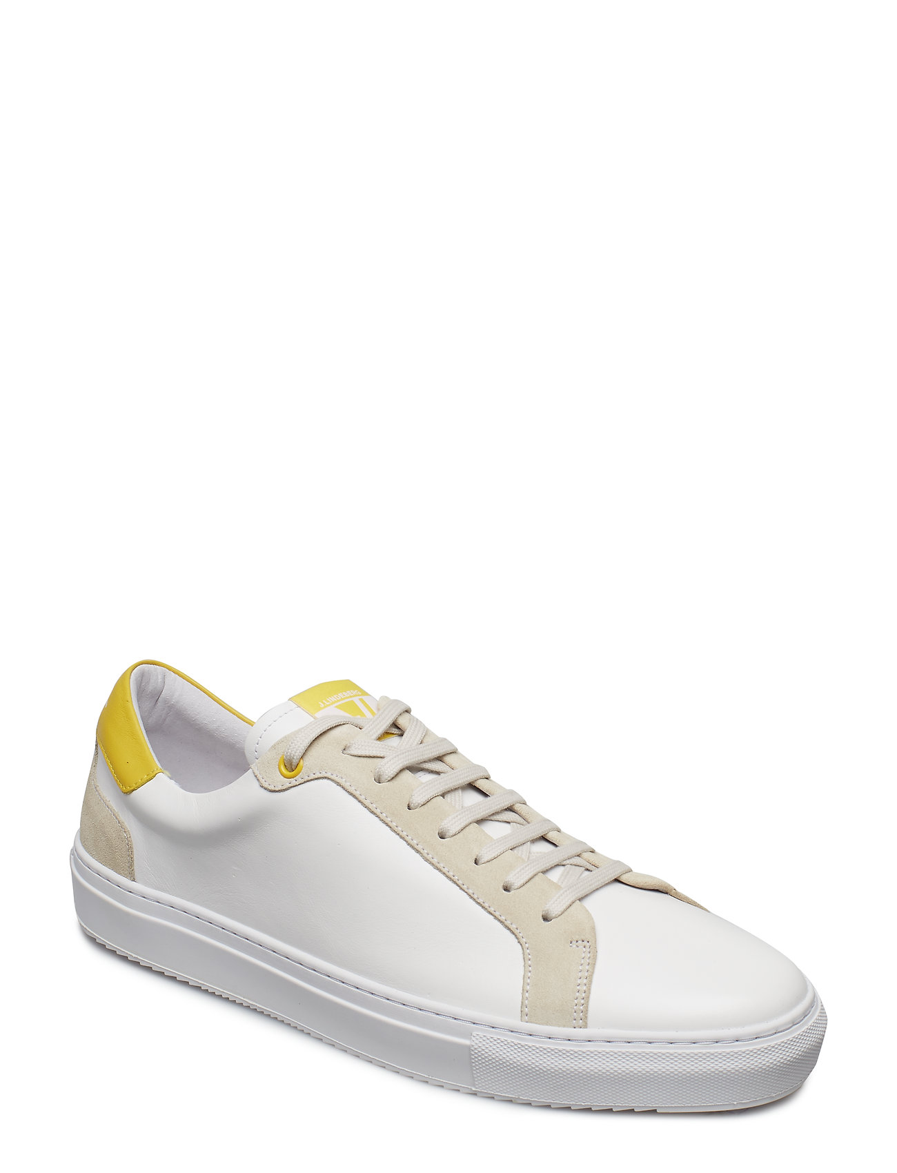 J. Lindeberg Sneaker Mix Calf - BUTTER YELLOW