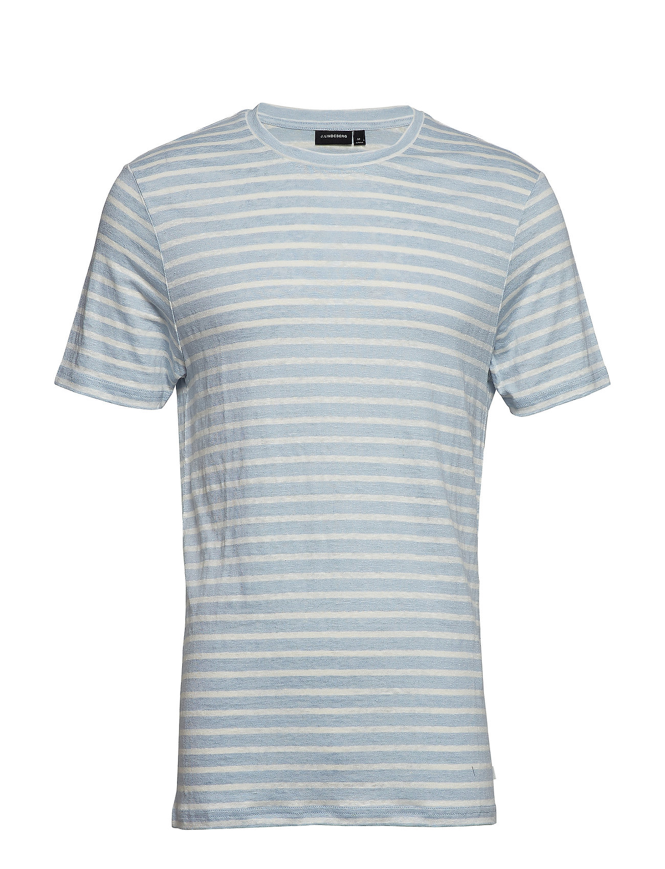 J. Lindeberg Coma Clean Striped Linen - ICE FLOW