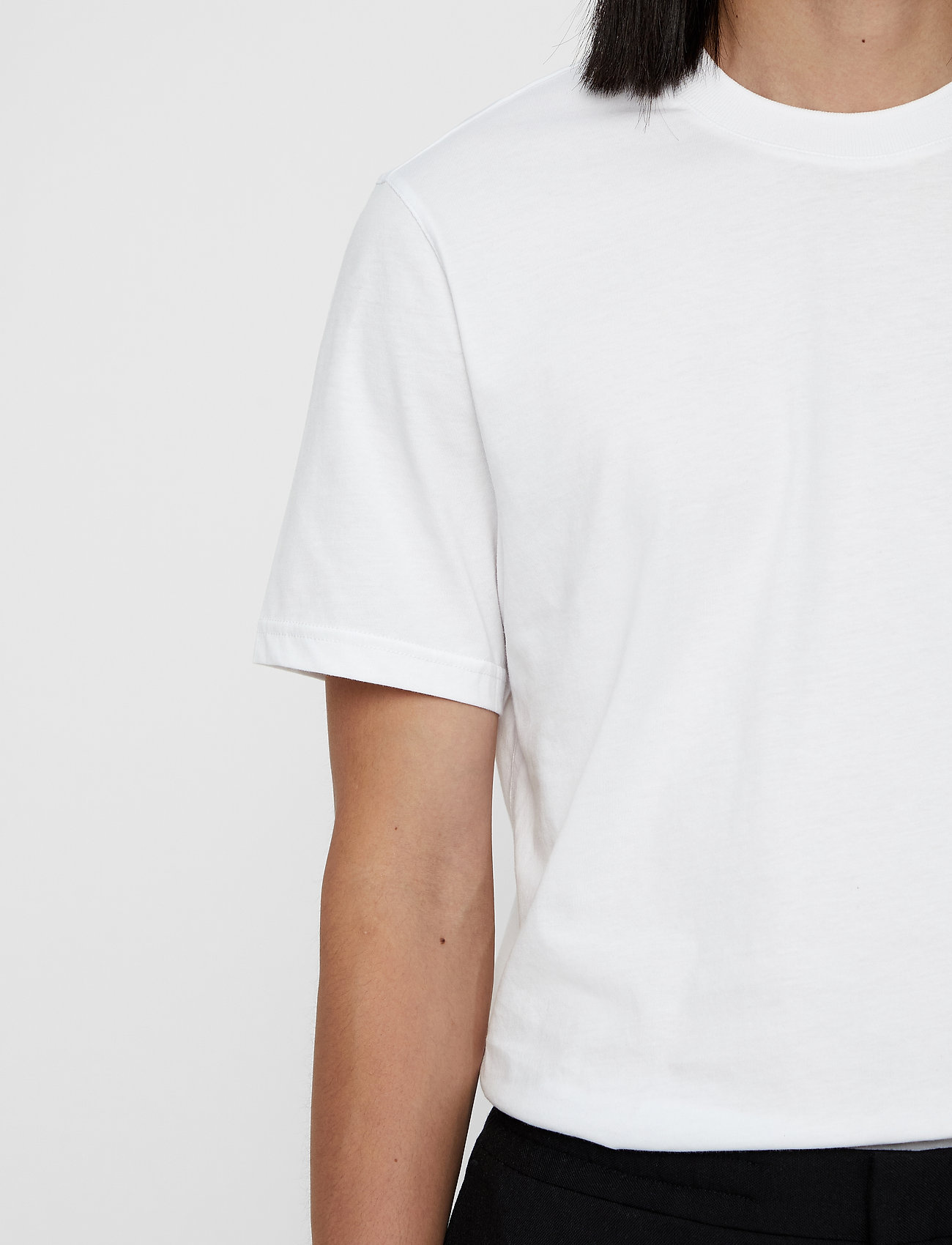 J. Lindeberg Silo Jersey Tee - T-skjorter WHITE - Menn Klær