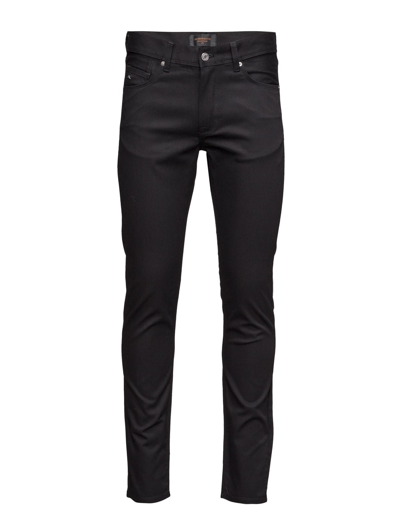 J. Lindeberg Damien svart Stretch Denim Jeans