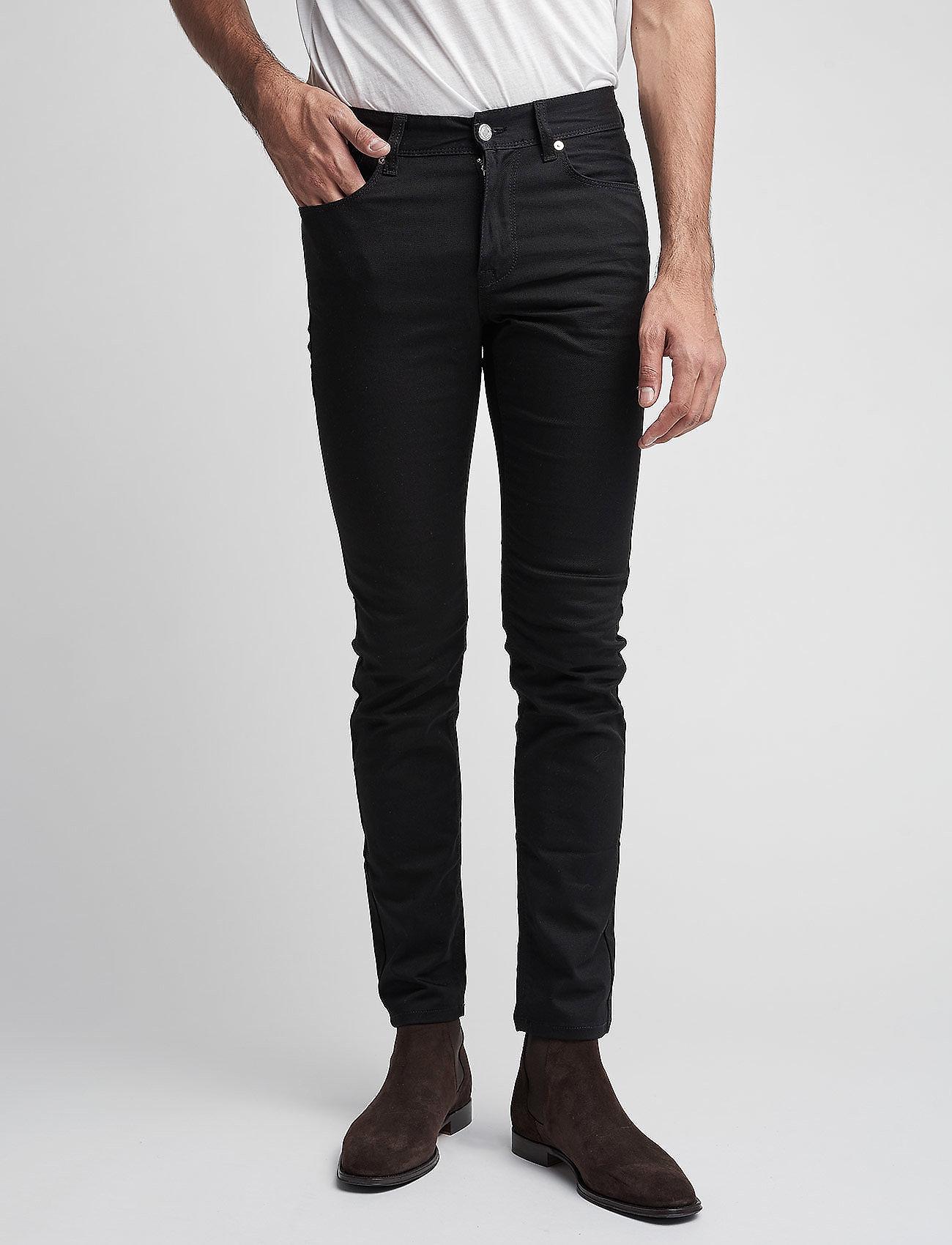 J. Lindeberg - Damien Black Stretch Denim - skinny jeans - black - 0