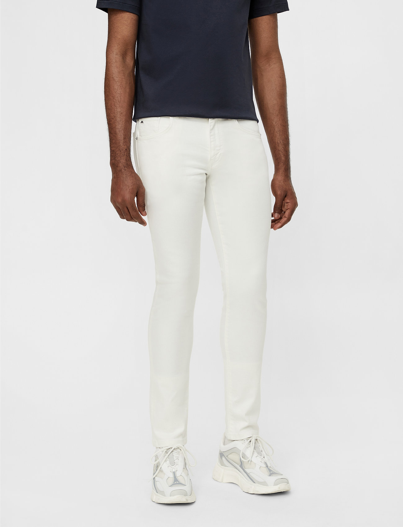 J. Lindeberg - Jay-Solid Stretch - skinny jeans - cloud white - 0