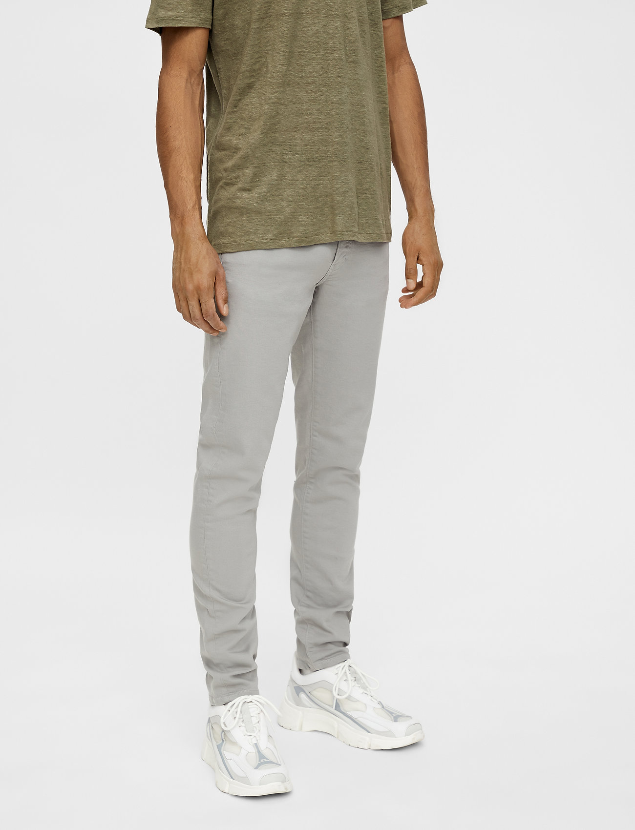 J. Lindeberg - Jay-Solid Stretch - skinny jeans - granite - 0