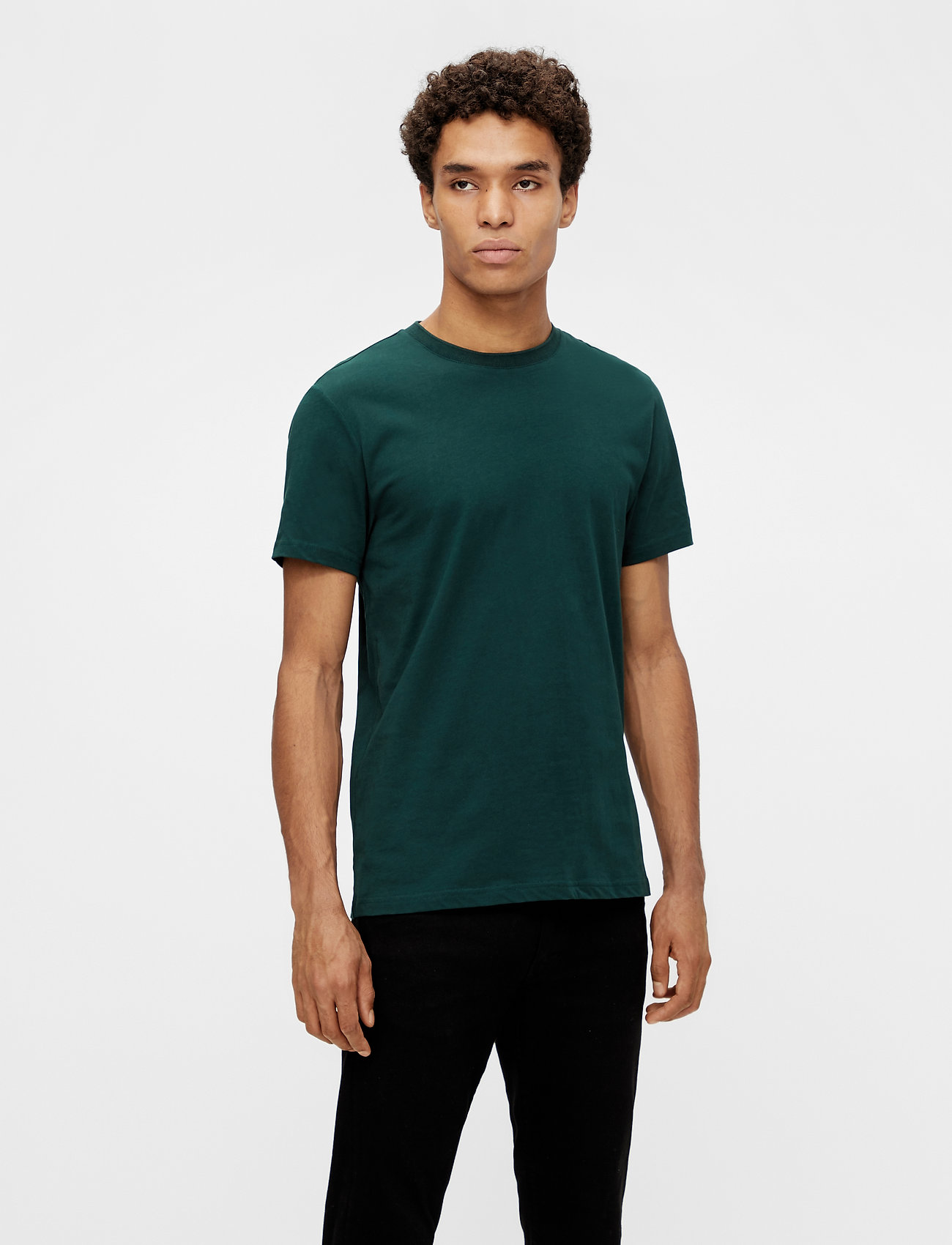 J. Lindeberg - Silo T-shirt - basic t-shirts - hunter green - 0