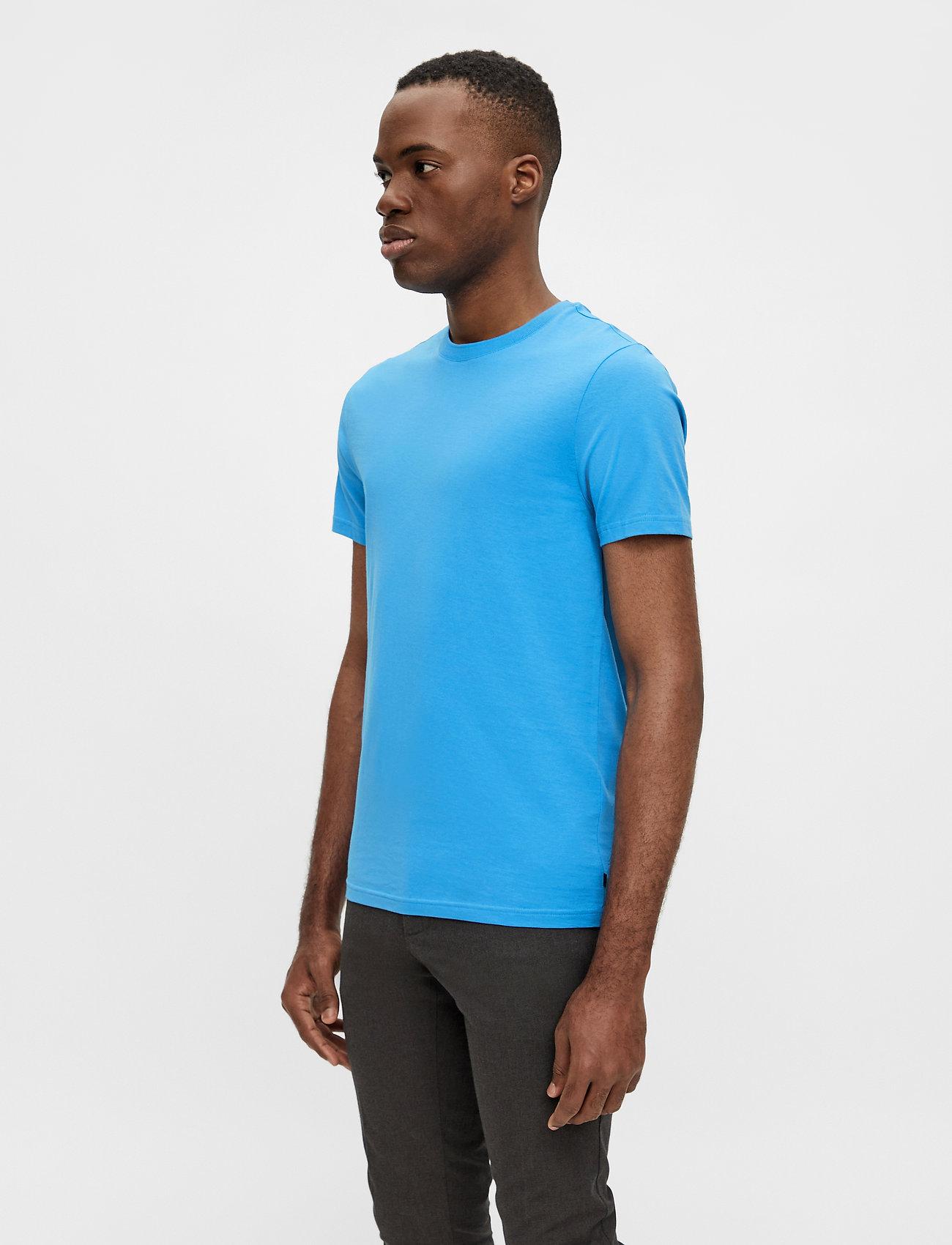 J. Lindeberg - Silo T-shirt - basic t-shirts - spring blue - 0
