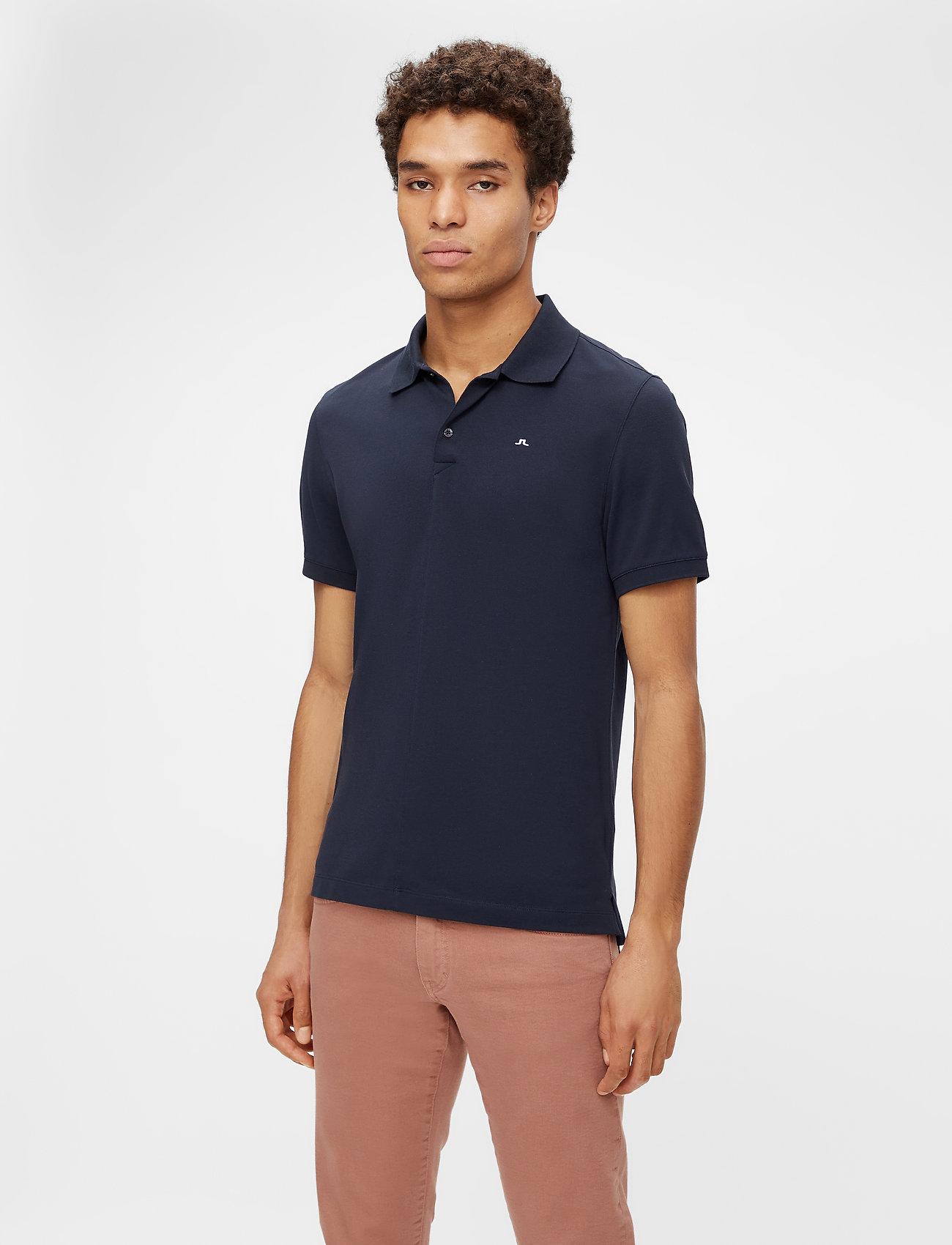 J. Lindeberg - Rubi Slim Polo Shirt - kurzärmelig - jl navy - 0