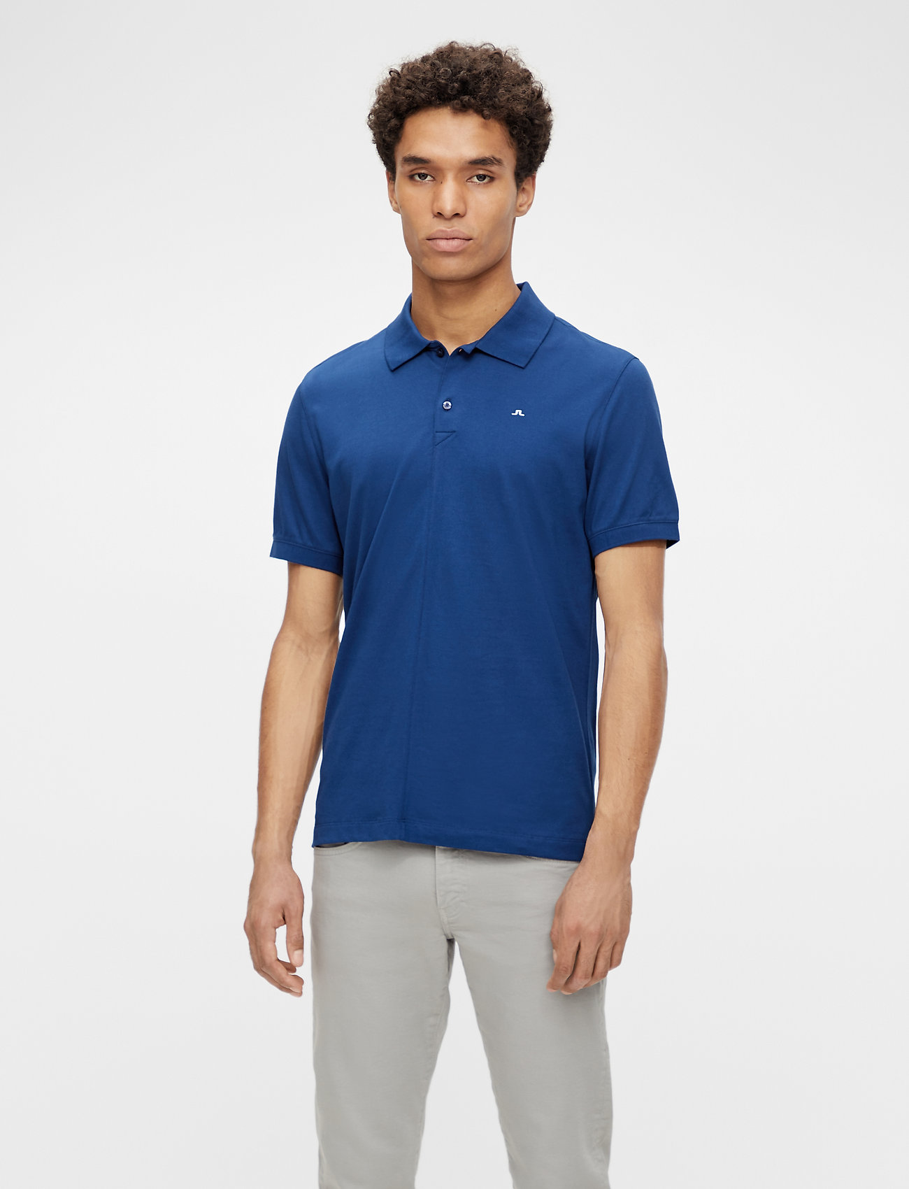 J. Lindeberg - Rubi Slim Polo Shirt - kurzärmelig - midnight blue - 0