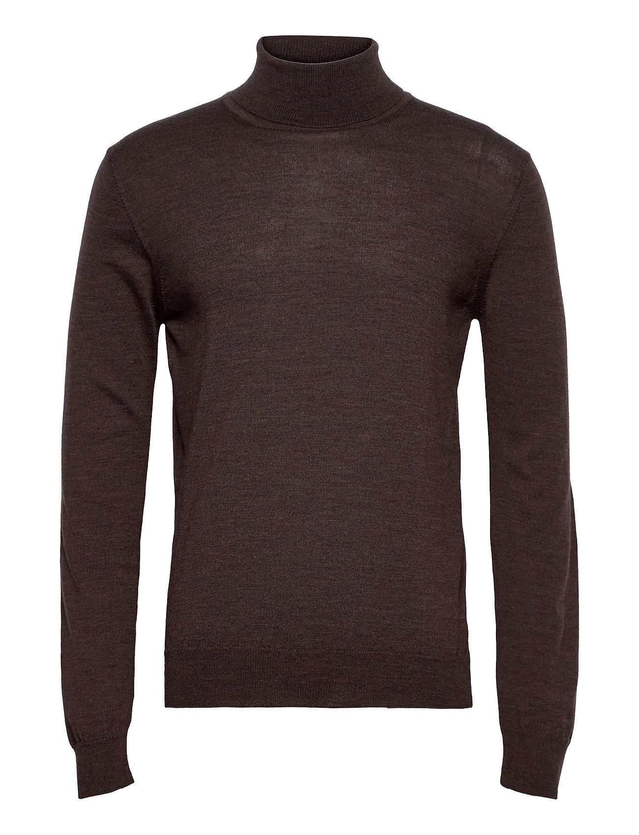 Lyd Merino Turtleneck Sweater Knitwear Turtlenecks Brun J. Lindeberg