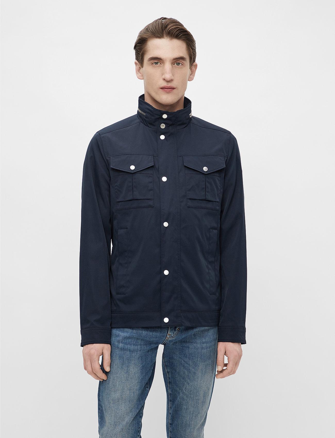J. Lindeberg - Bailey Poly Stretch jacket - leichte jacken - jl navy - 0